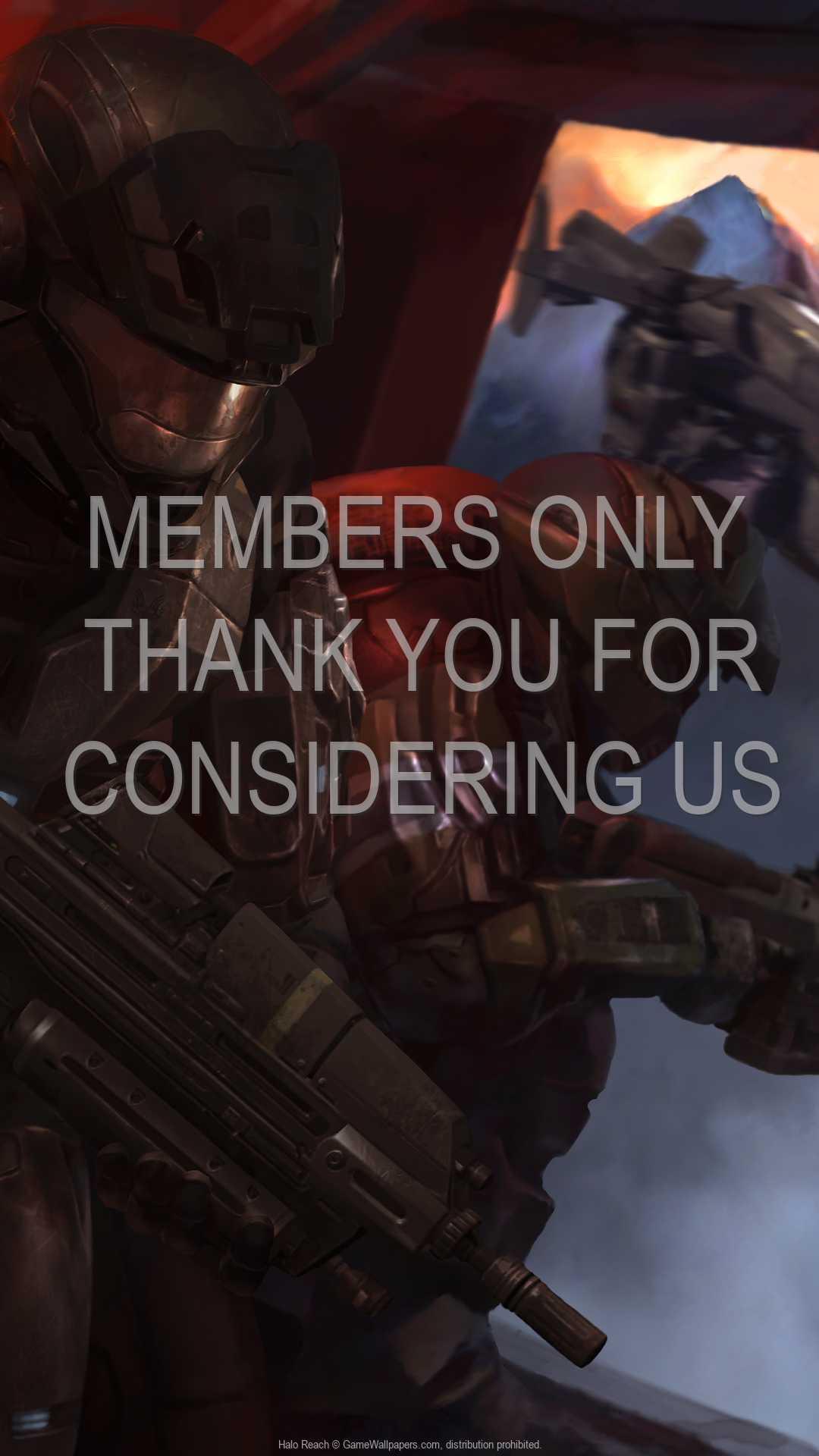 Halo: Reach 1080p Vertical Móvil fondo de escritorio 09