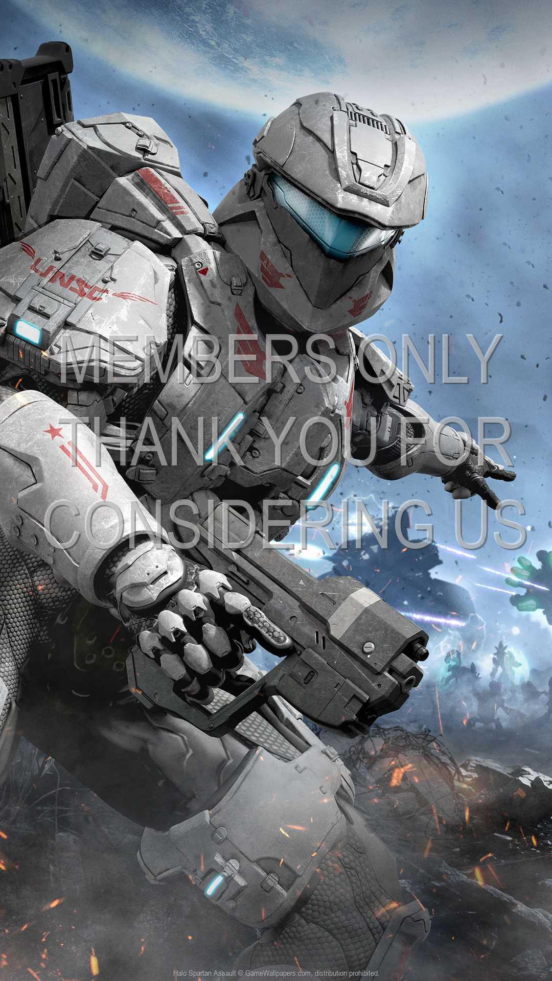 Halo: Spartan Assault 1080p Vertical Handy Hintergrundbild 01