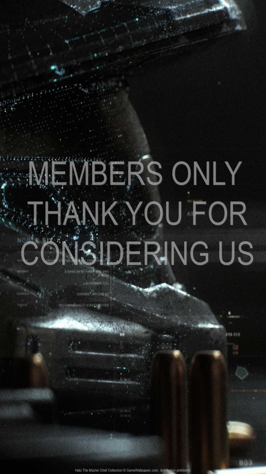 Halo: The Master Chief Collection 1080p Vertical Handy Hintergrundbild 01