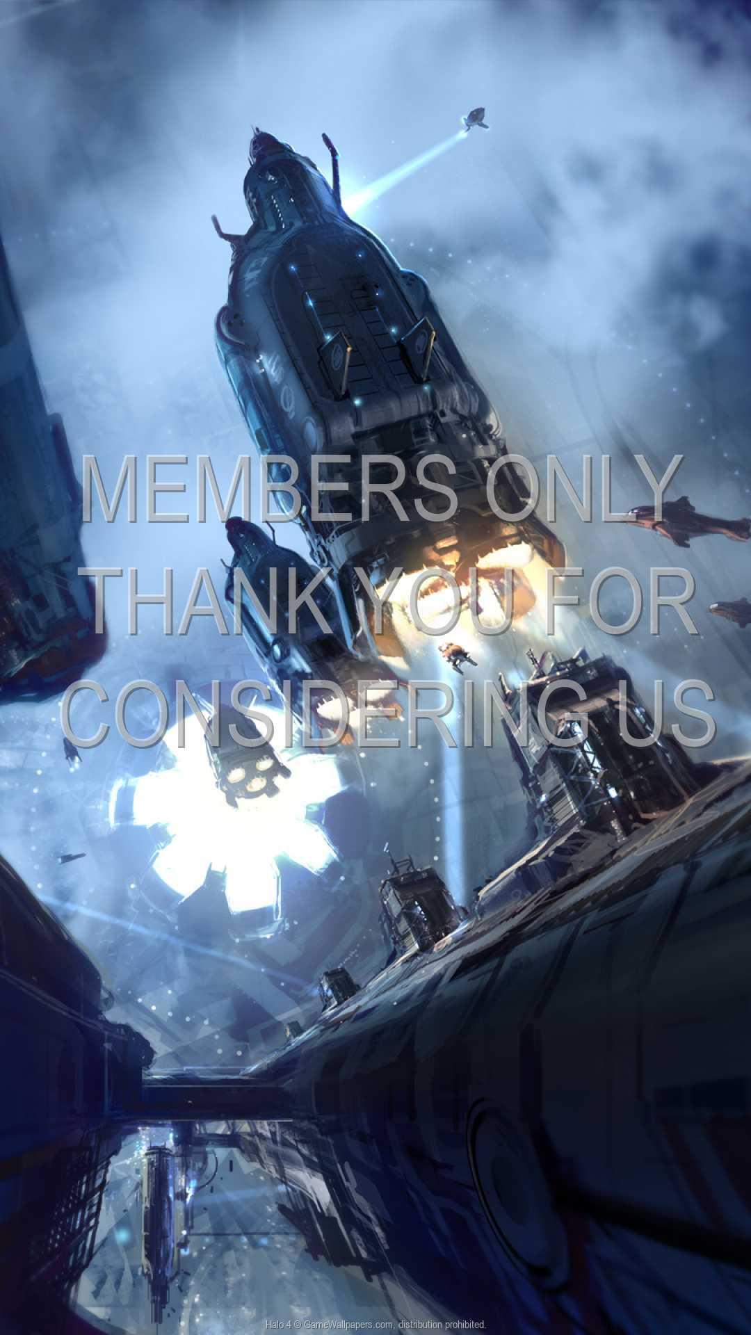 Halo 4 1080p Vertical Handy Hintergrundbild 03