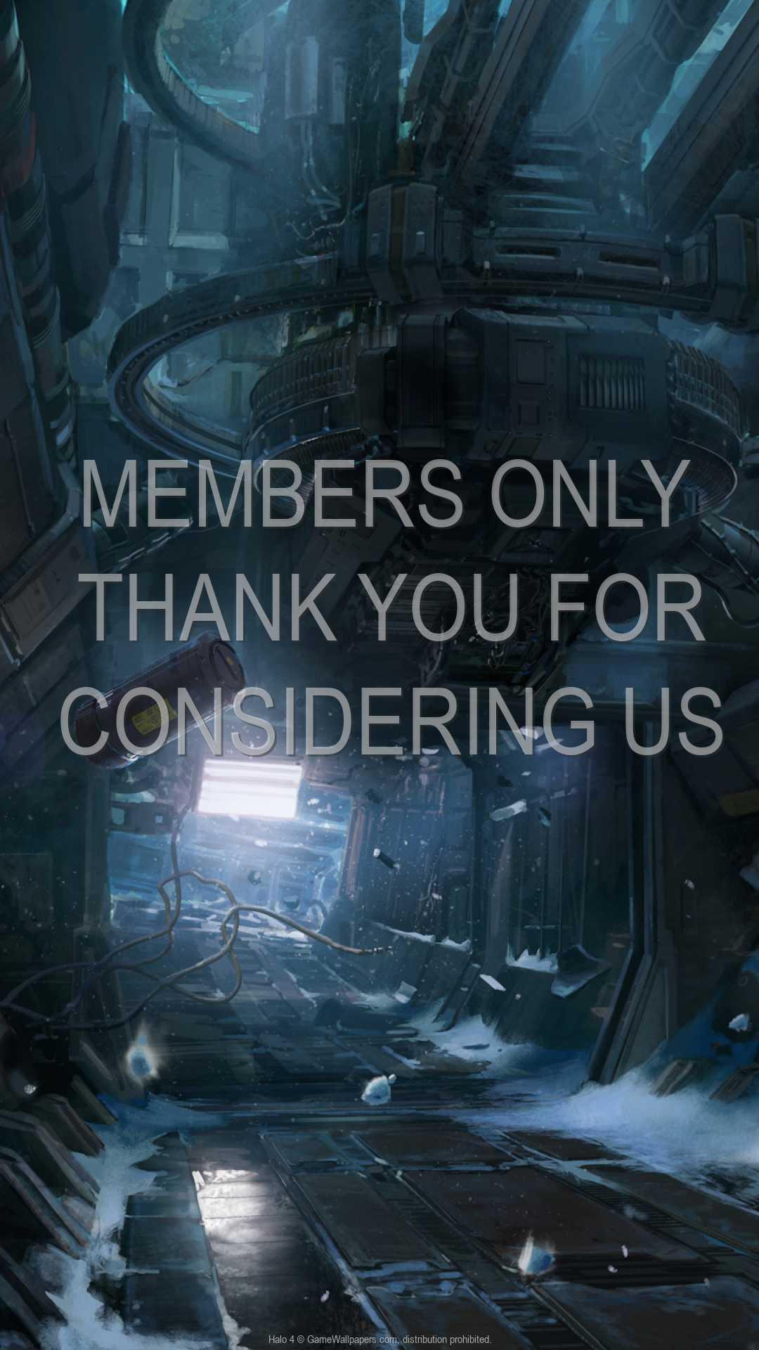 Halo 4 1080p Vertical Mobiele achtergrond 05