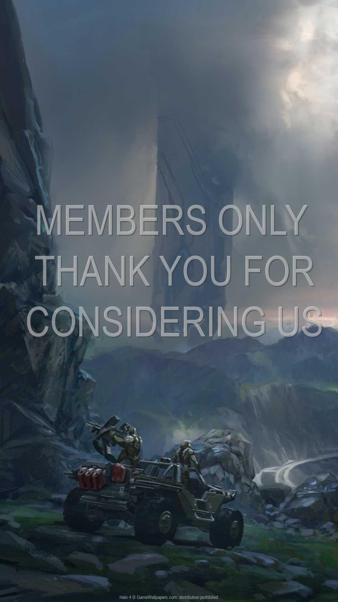 Halo 4 1080p Vertical Handy Hintergrundbild 06