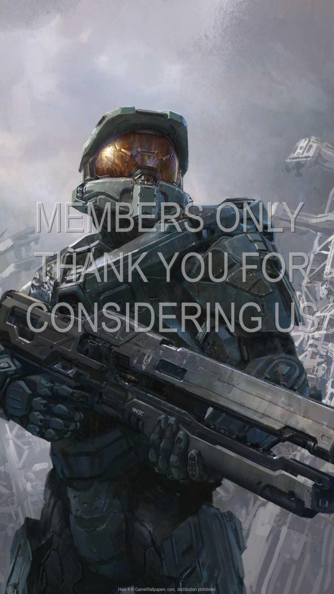 Halo 4 1080p Vertical Mobiele achtergrond 09