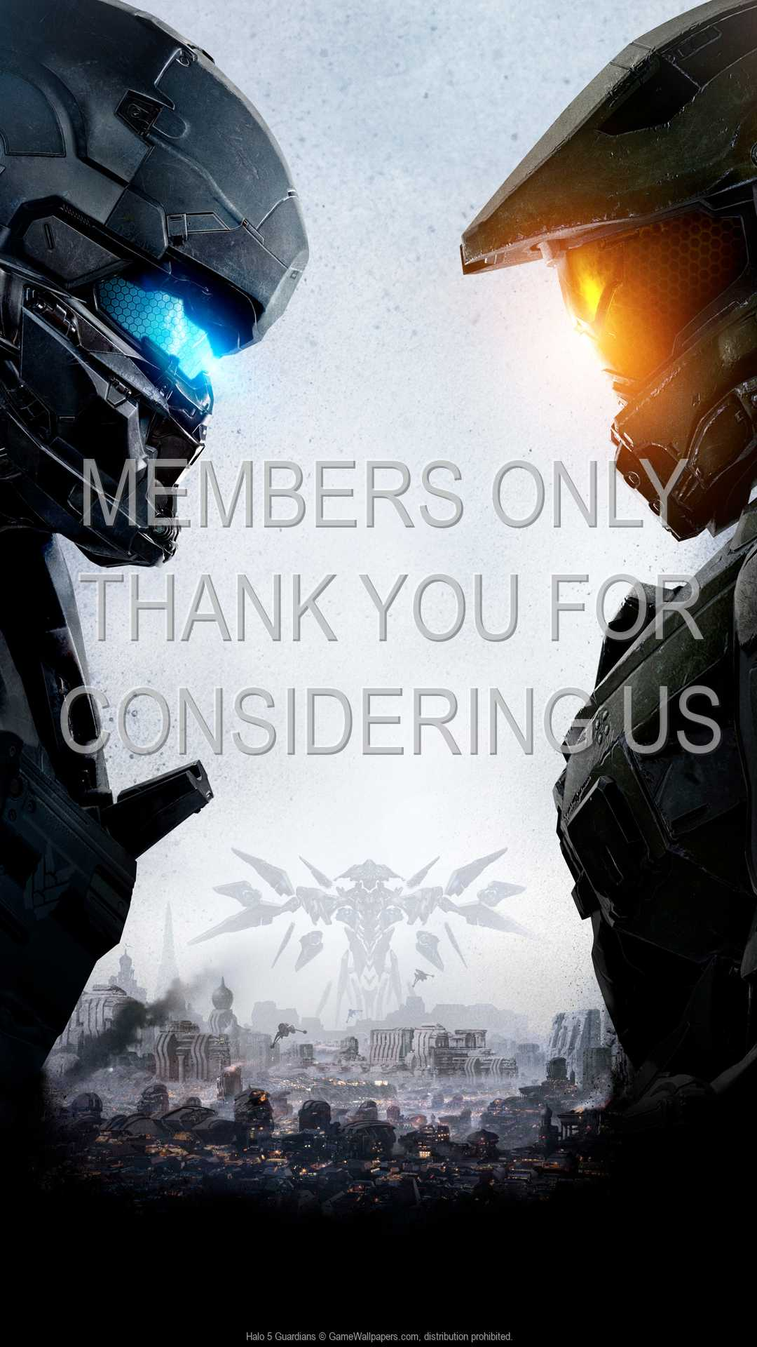 Halo 5: Guardians 1080p Vertical Handy Hintergrundbild 01