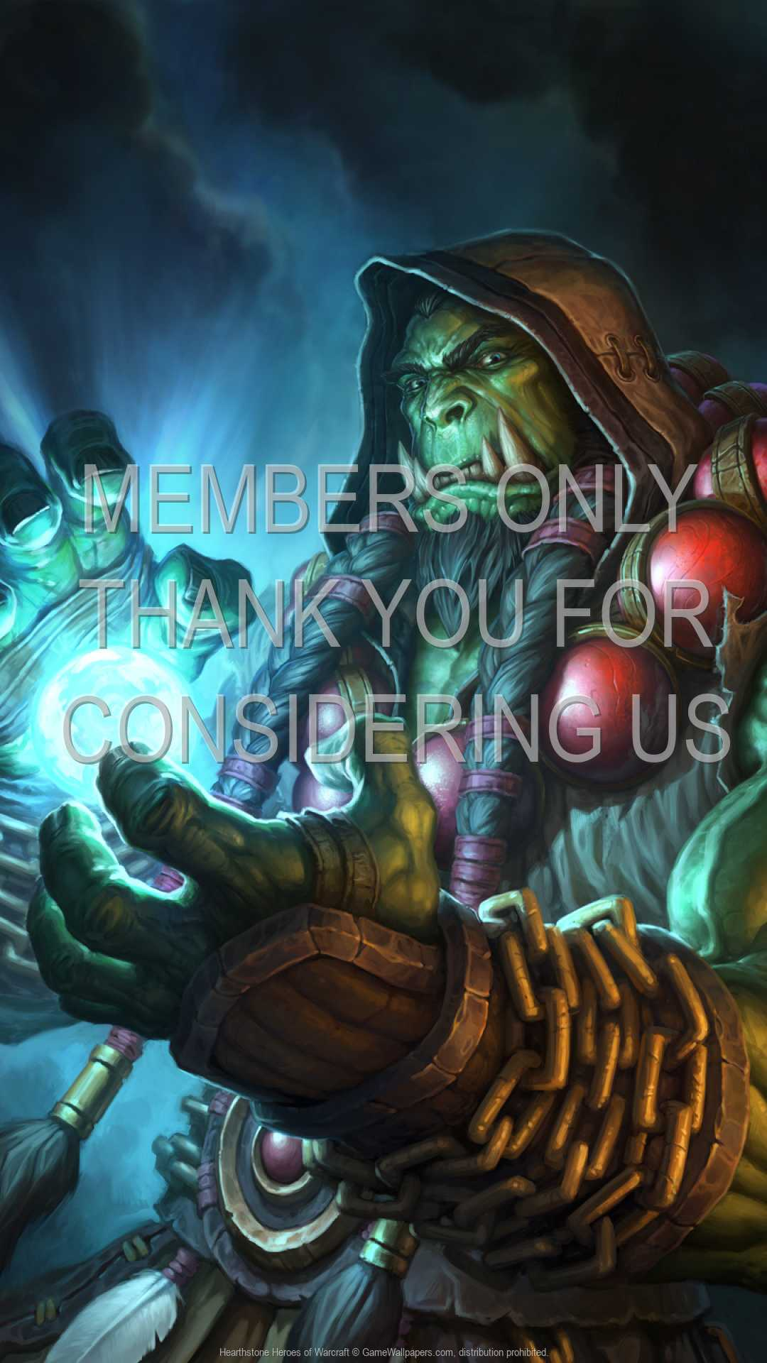 Hearthstone: Heroes of Warcraft 1080p Vertical Handy Hintergrundbild 02