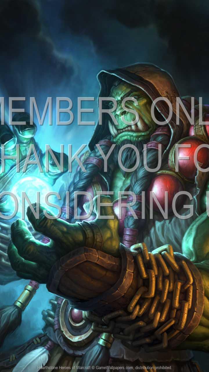 Hearthstone: Heroes of Warcraft 720p Vertical Handy Hintergrundbild 02