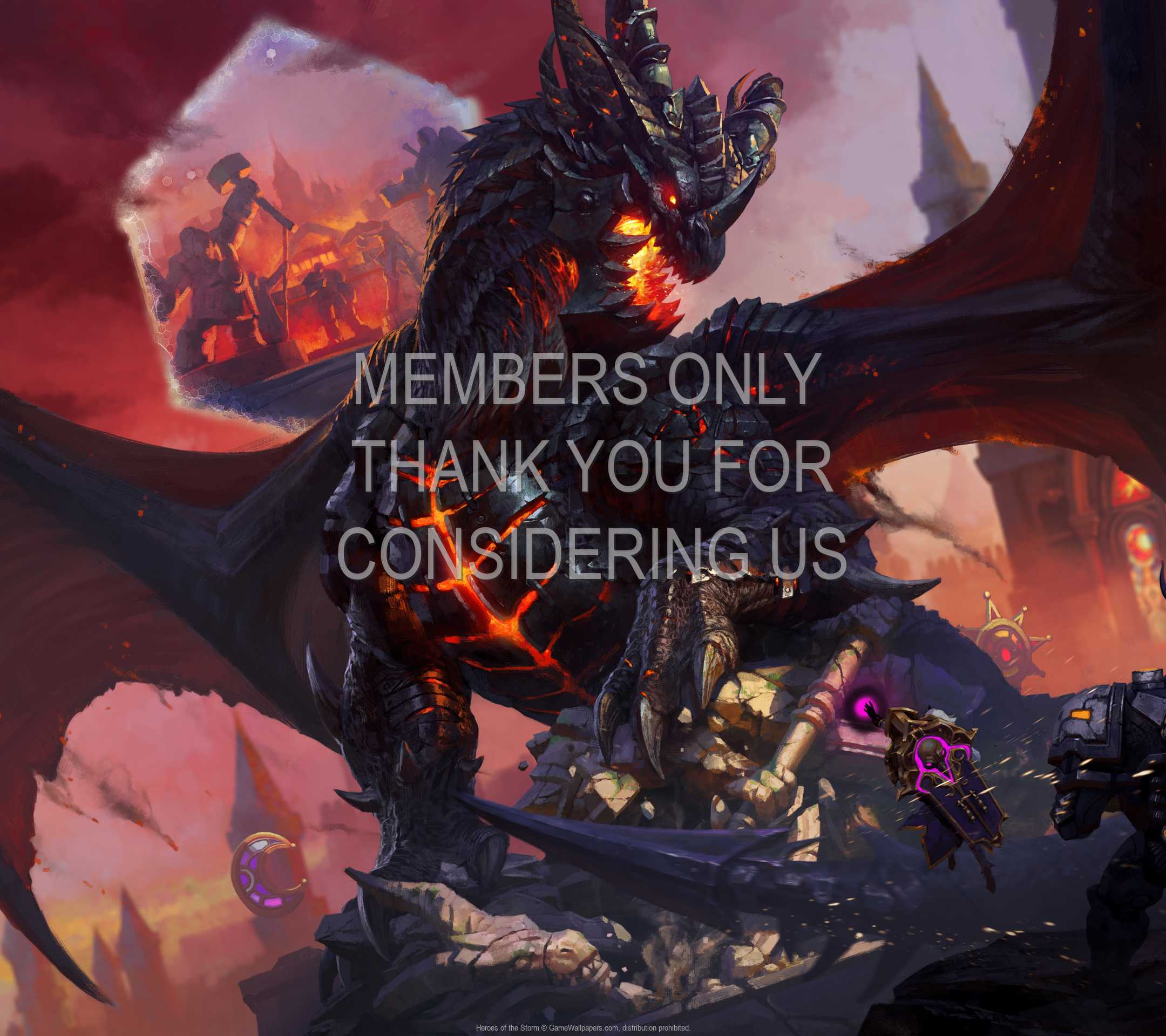 Heroes of the Storm 1080p Horizontal Handy Hintergrundbild 12