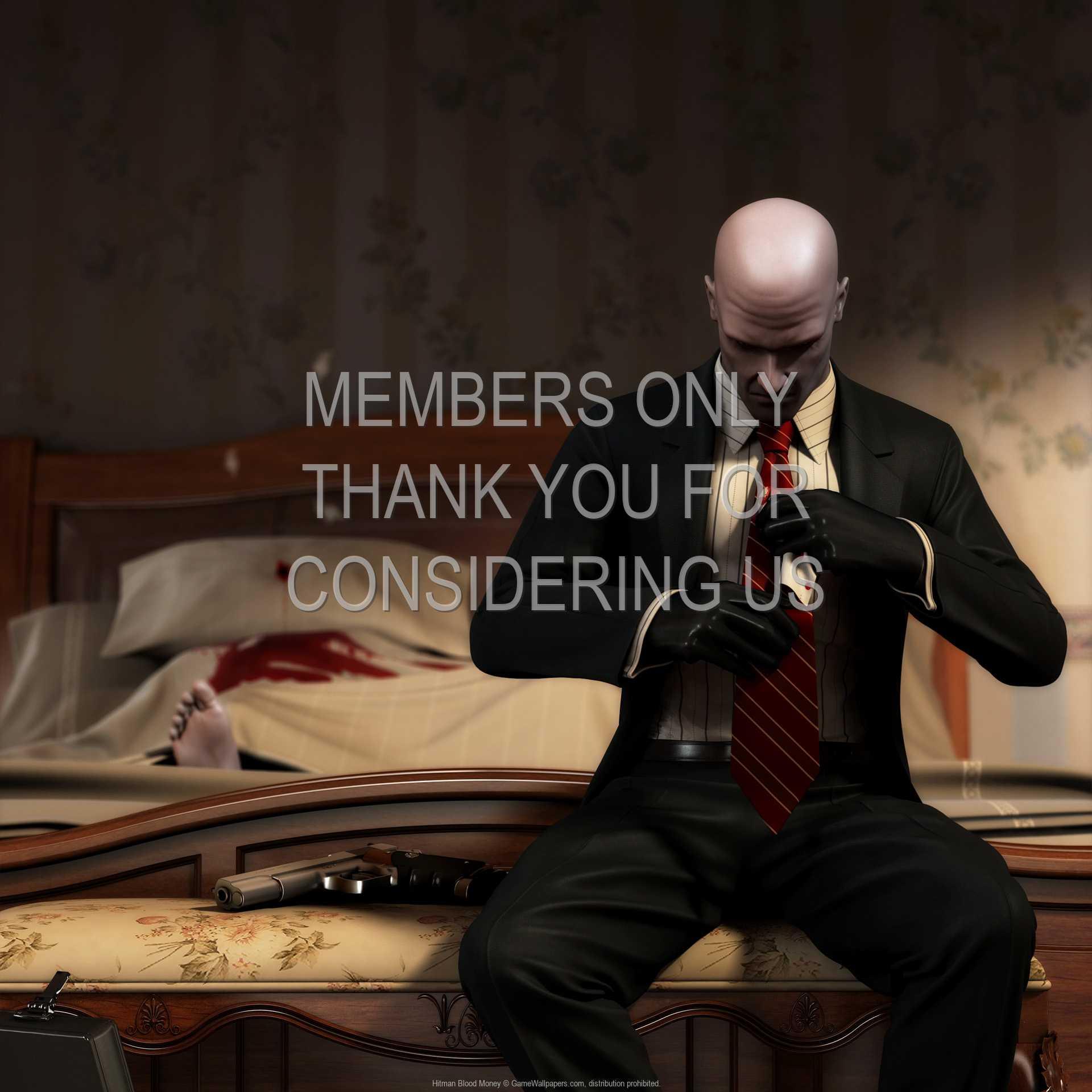 Hitman: Blood Money 1080p Horizontal Mobiele achtergrond 11