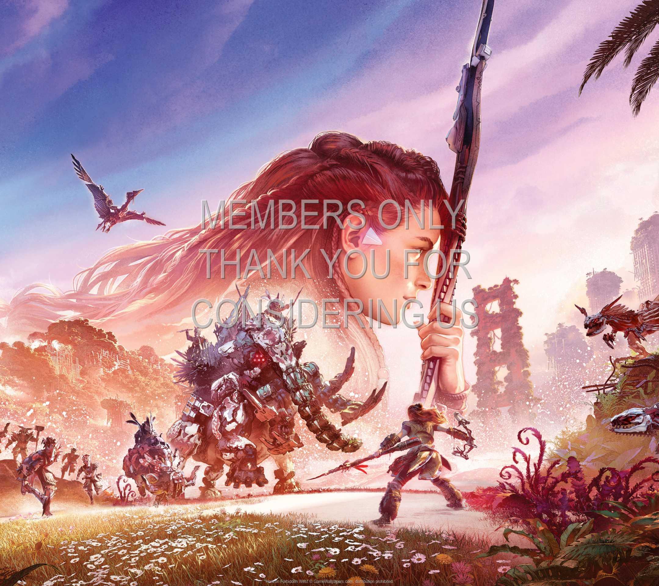Horizon: Forbidden West 1080p Horizontal Móvil fondo de escritorio 03
