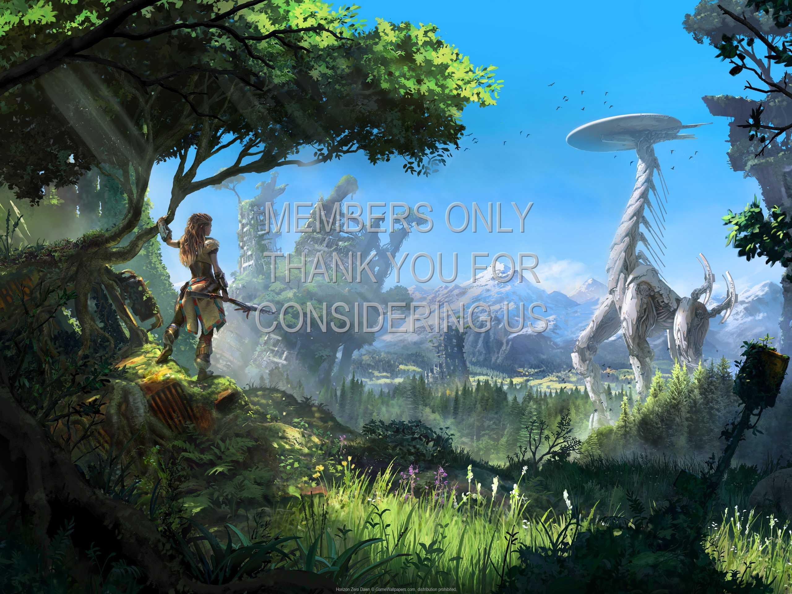 Horizon: Zero Dawn 1080p Horizontal Móvil fondo de escritorio 02