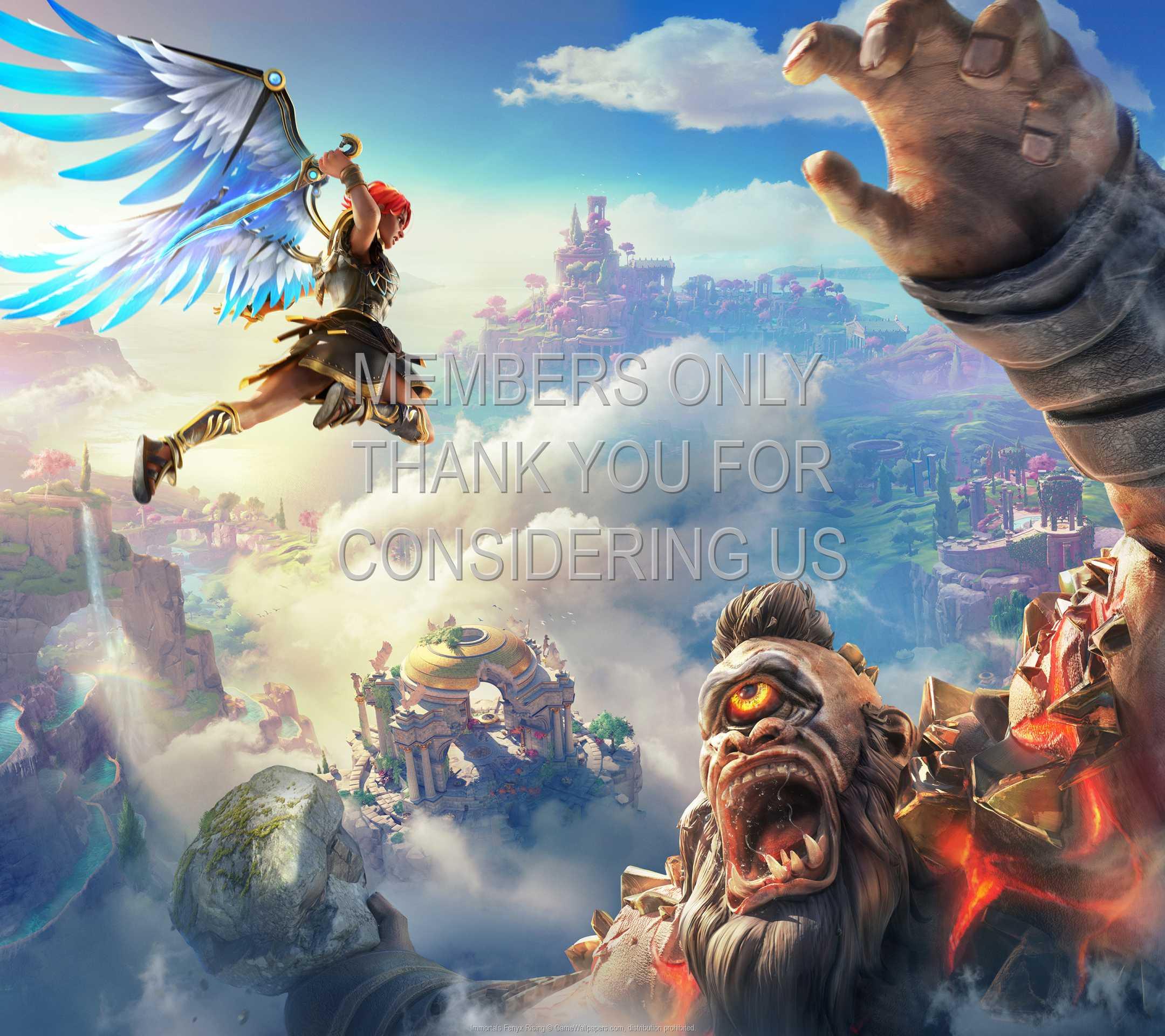 Immortals Fenyx Rising 1080p Horizontal Handy Hintergrundbild 01