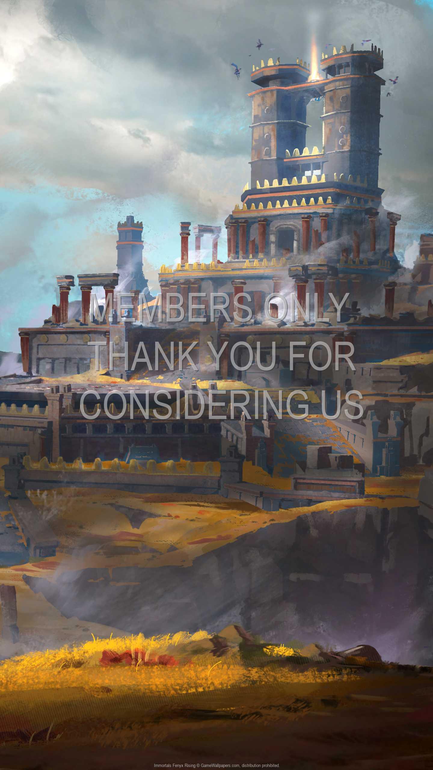 Immortals Fenyx Rising 1440p Vertical Handy Hintergrundbild 04