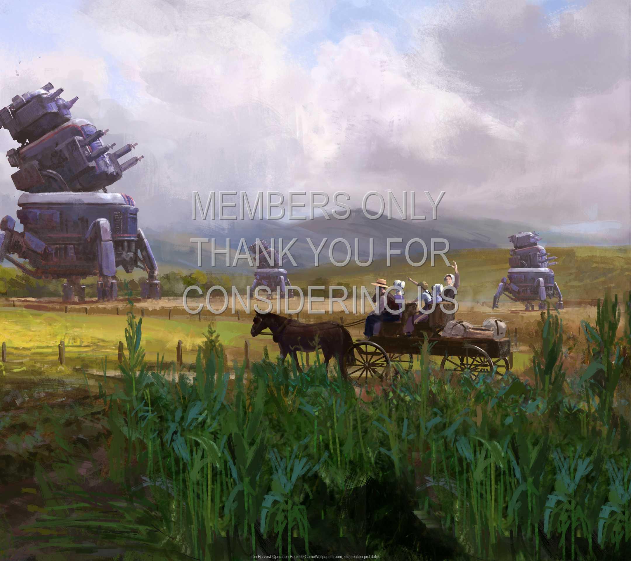 Iron Harvest: Operation Eagle 1080p Horizontal Mobile fond d'écran 01