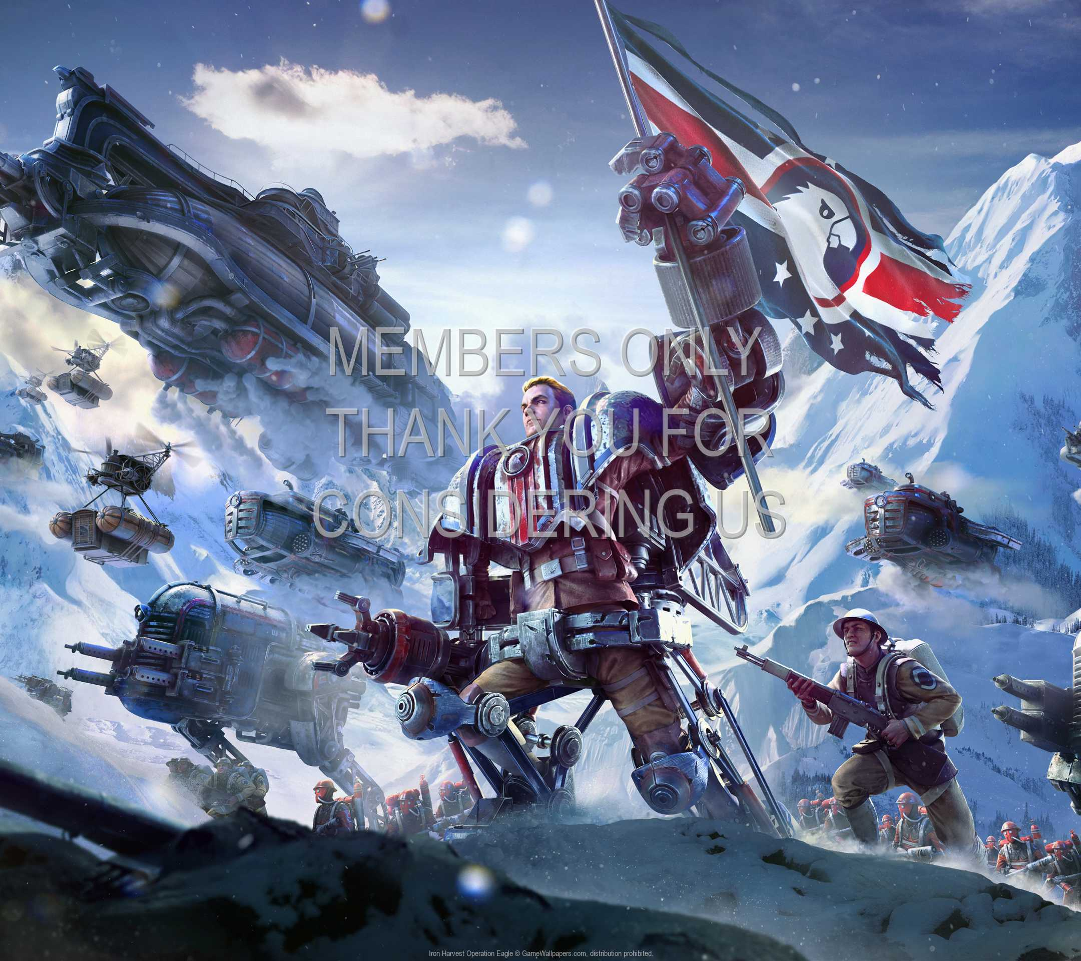 Iron Harvest: Operation Eagle 1080p Horizontal Mobile wallpaper or background 02