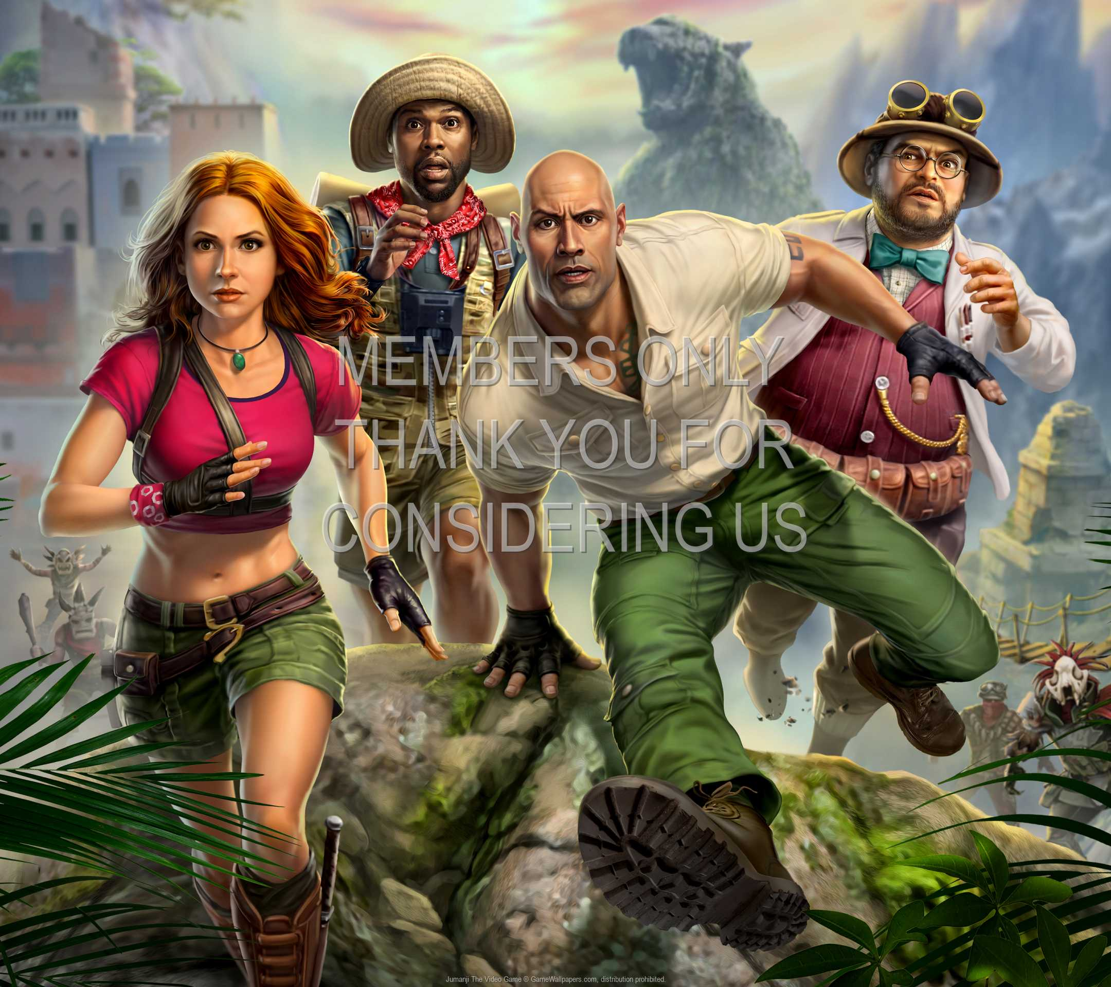 Jumanji: The Video Game 1080p Horizontal Mobile wallpaper or background 01