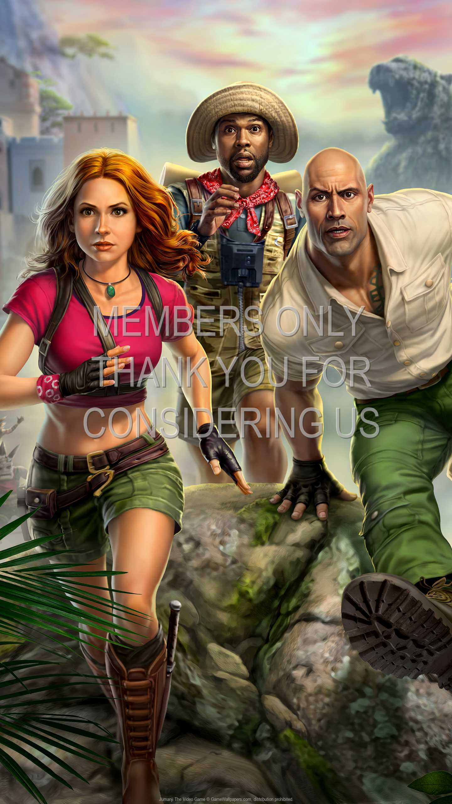 Jumanji: The Video Game 1440p Vertical Mobile wallpaper or background 01