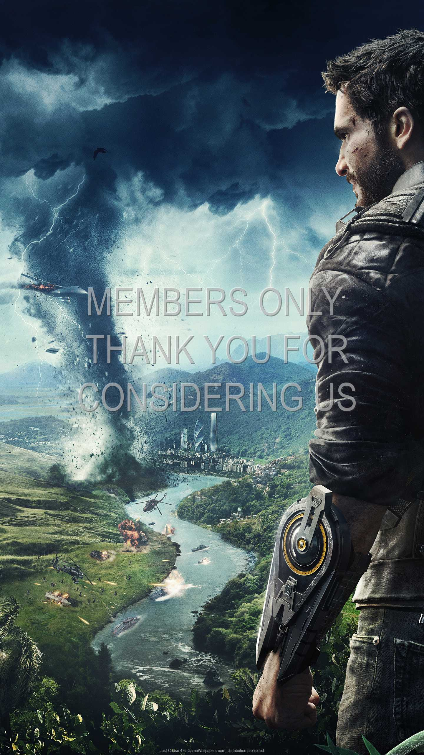 Just Cause 4 1440p Vertical Mobiele achtergrond 02