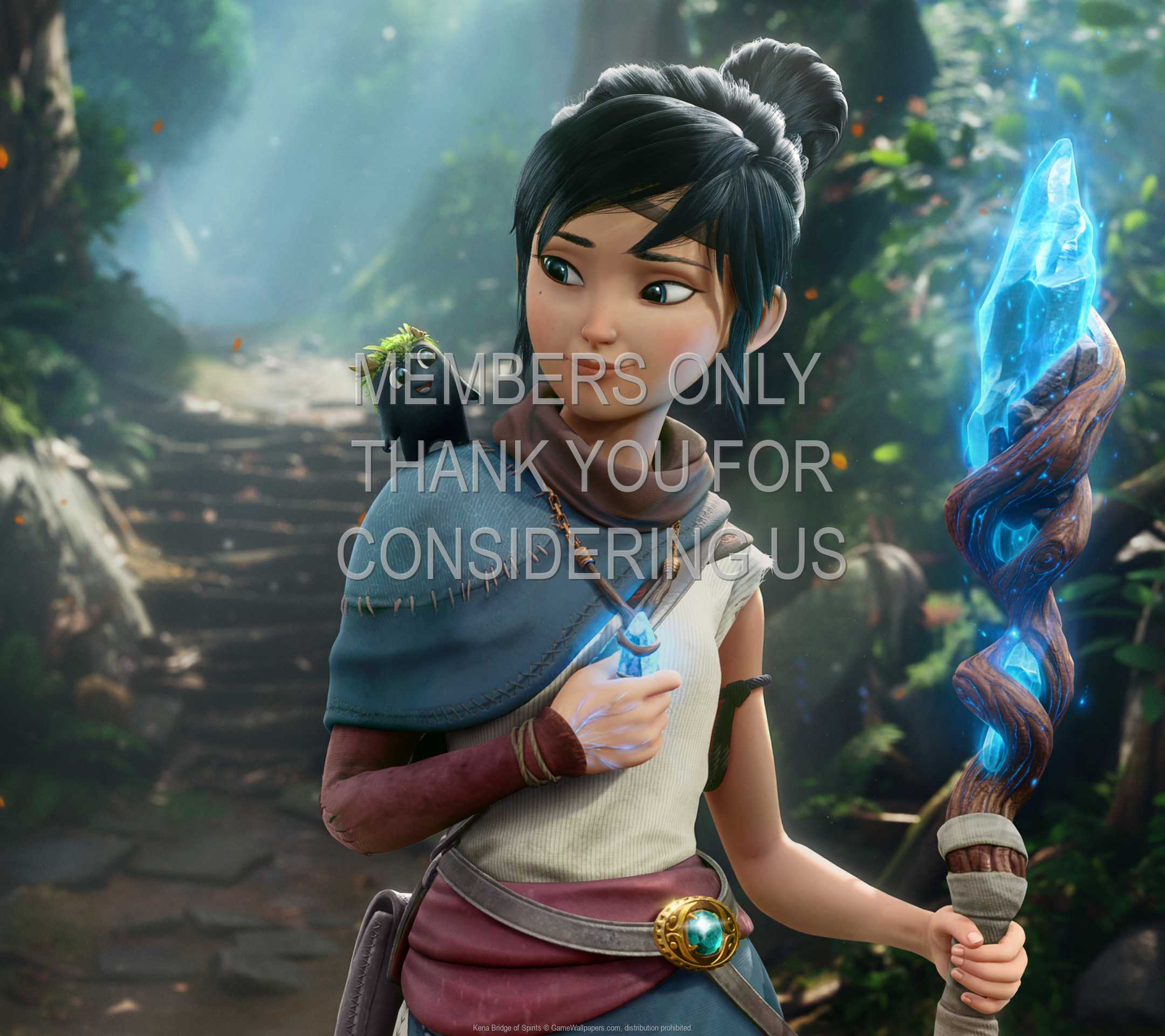 Kena: Bridge of Spirits 1080p Horizontal Mobile fond d'écran 03