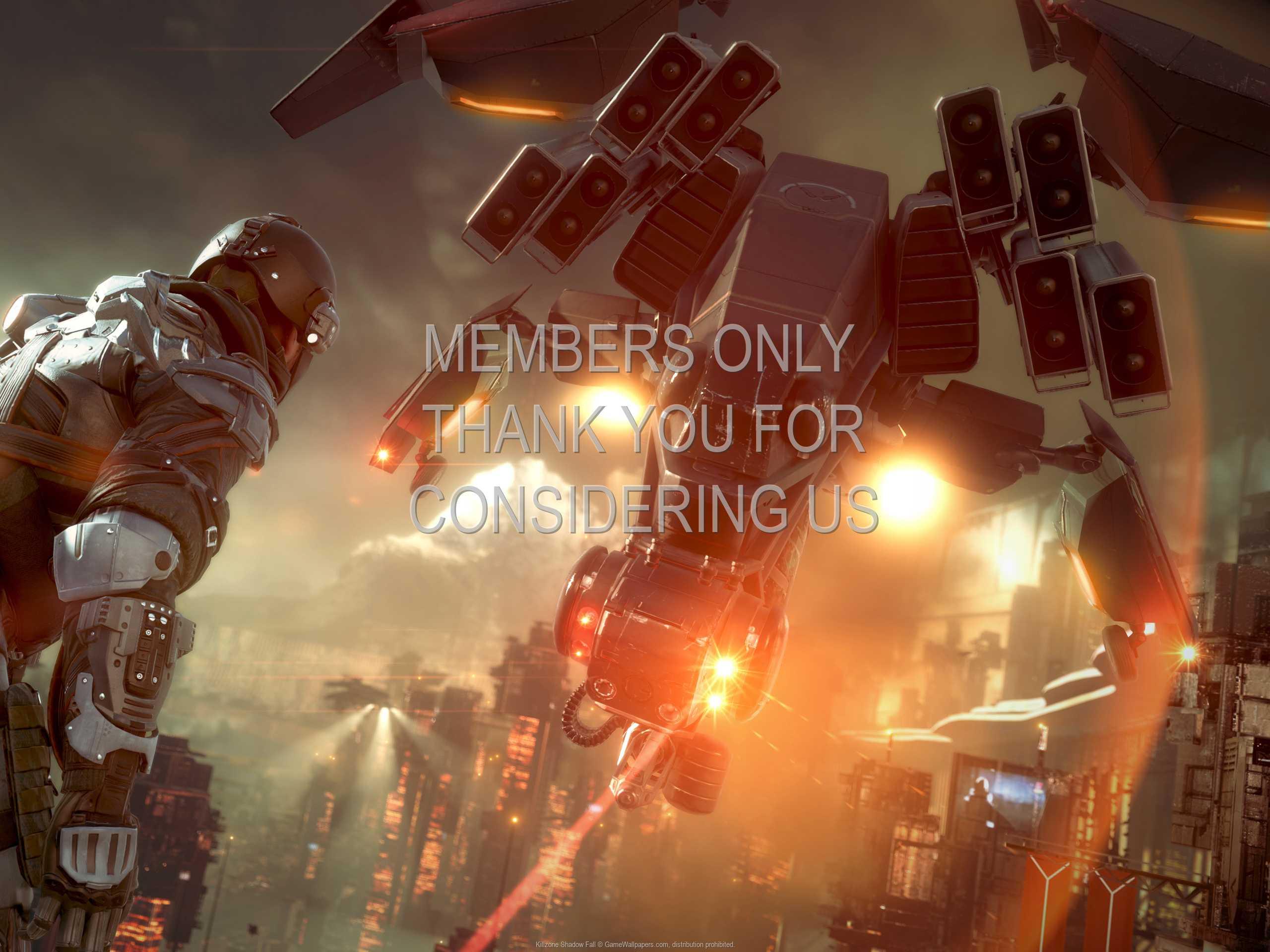Killzone: Shadow Fall 1080p Horizontal Handy Hintergrundbild 03