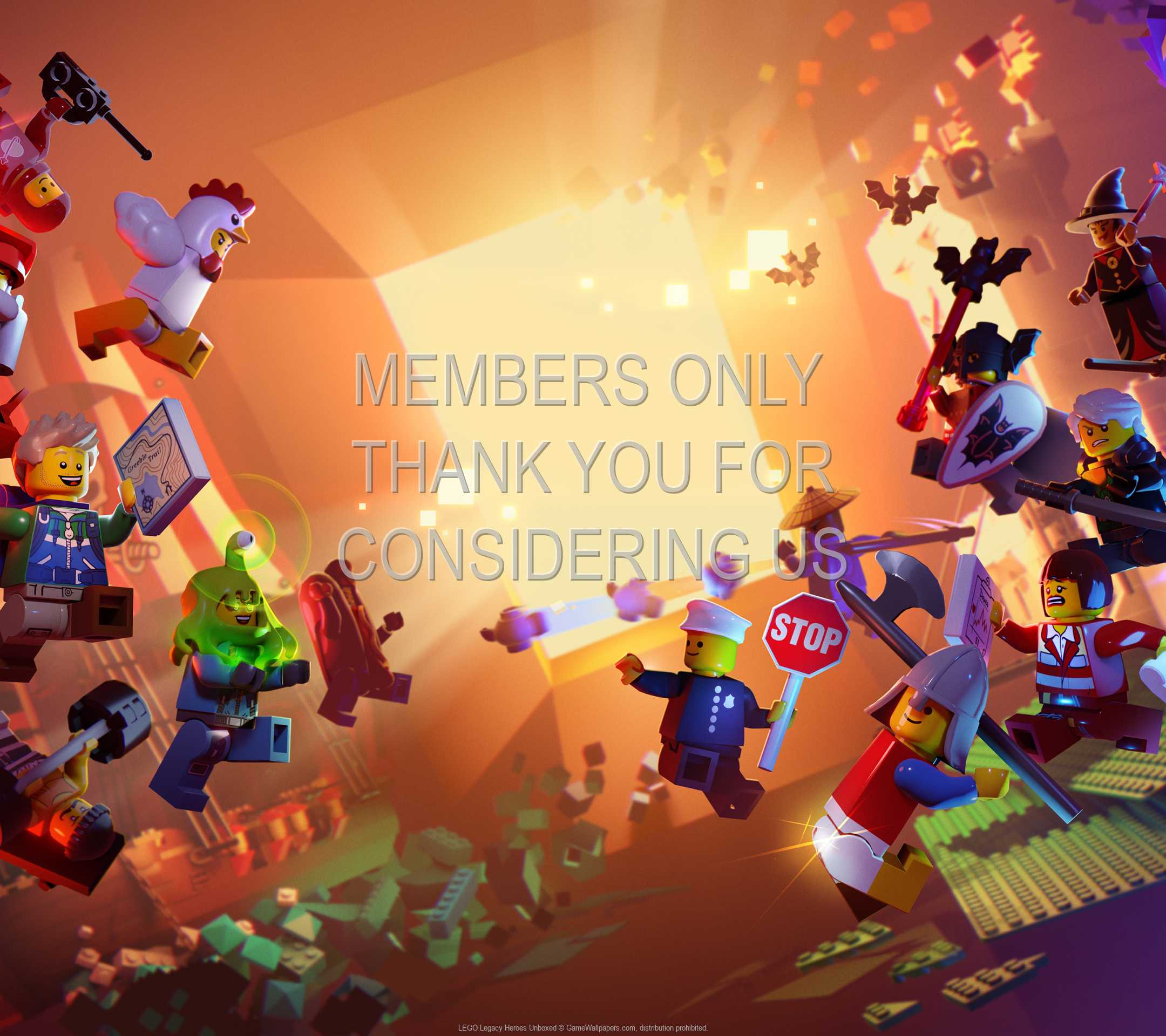 LEGO Legacy: Heroes Unboxed 1080p Horizontal Mobile fond d'écran 01