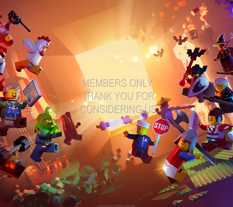 LEGO Legacy: Heroes Unboxed 1440p Horizontal Mobile fond d'écran 01