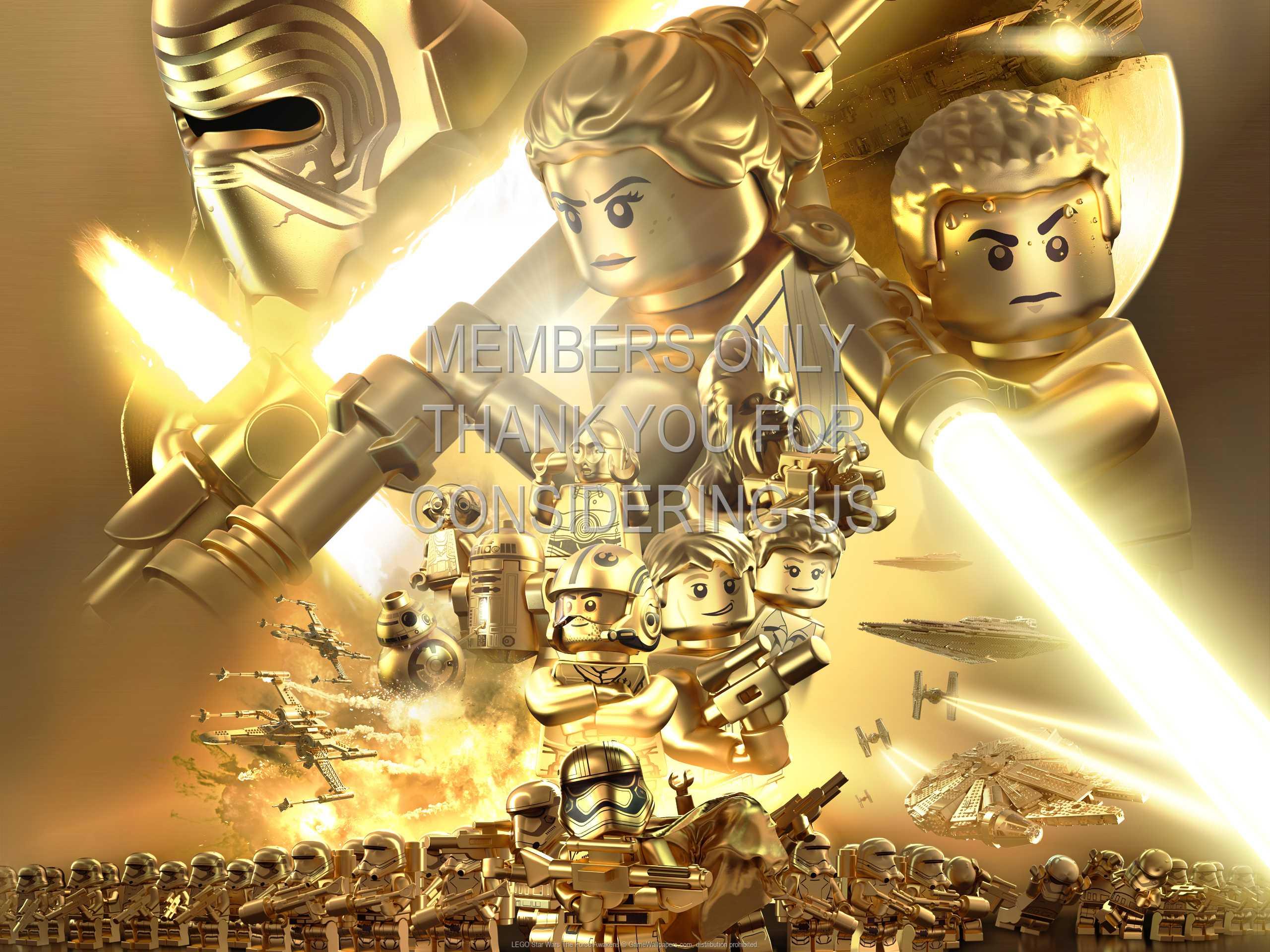 Lego Star Wars The Force Awakens Wallpaper 02 1080p Horizontal