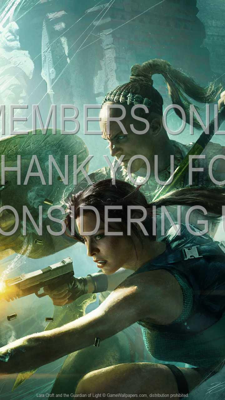 Lara Croft and the Guardian of Light 720p Vertical Handy Hintergrundbild 01