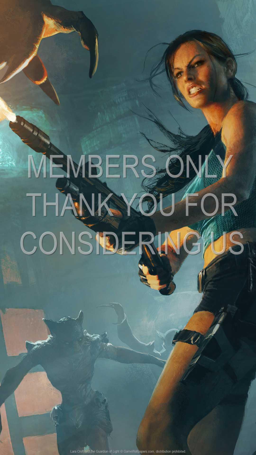 Lara Croft and the Guardian of Light 1080p Vertical Handy Hintergrundbild 02