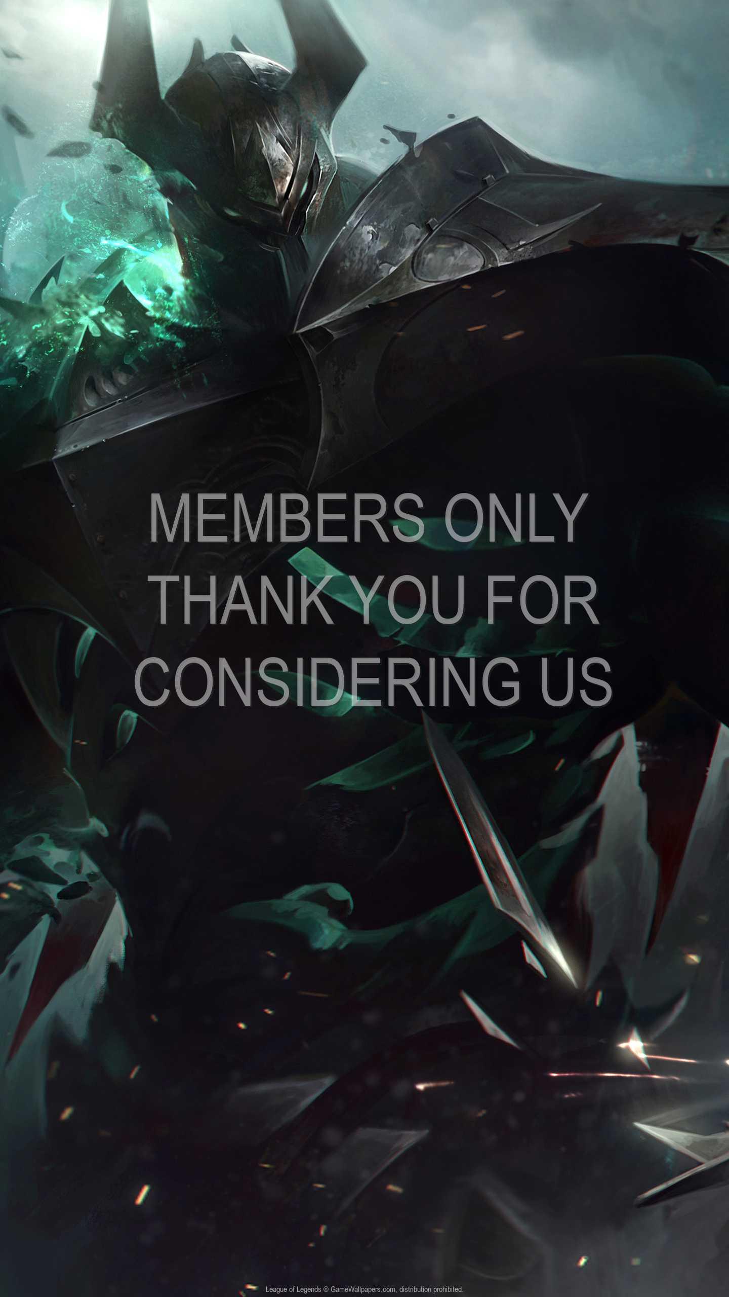 League of Legends 1440p Vertical Handy Hintergrundbild 110