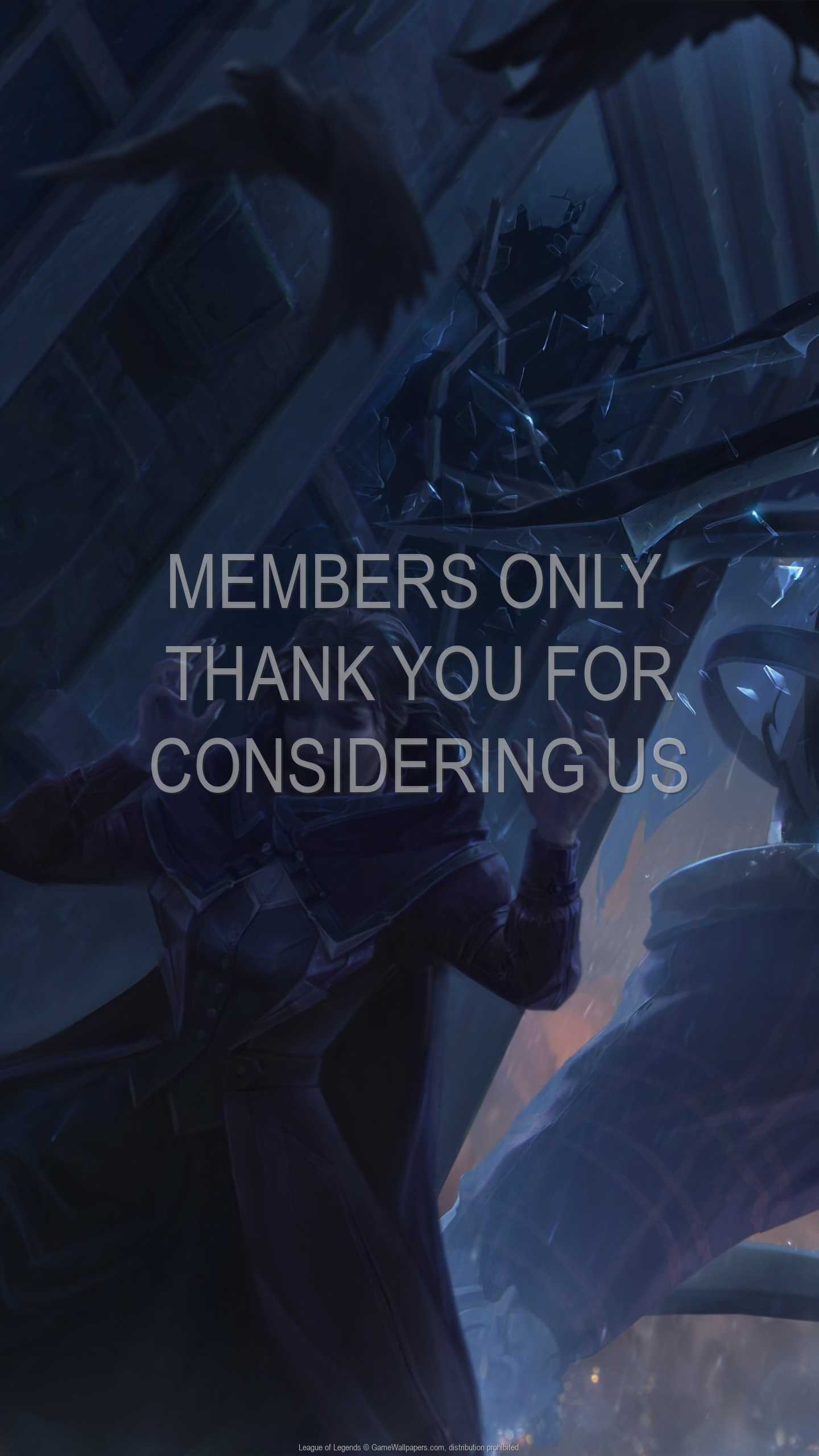 League of Legends 1440p Vertical Handy Hintergrundbild 114