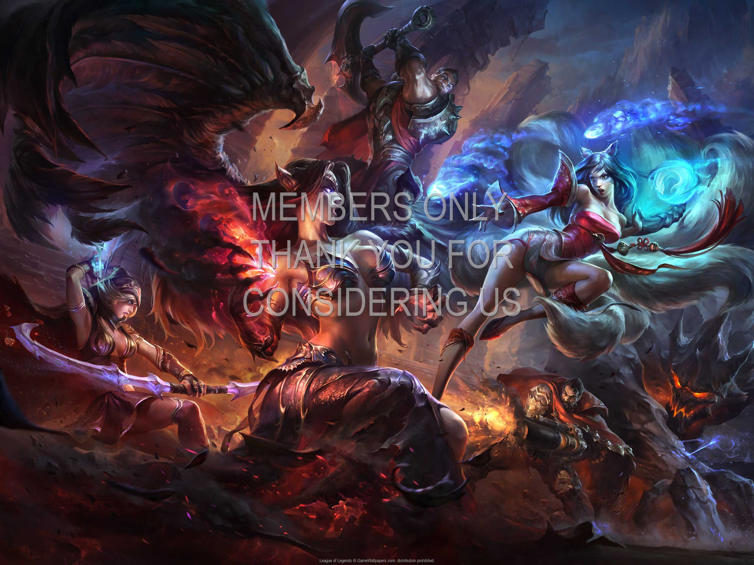 League of Legends 1080p Horizontal Handy Hintergrundbild 17