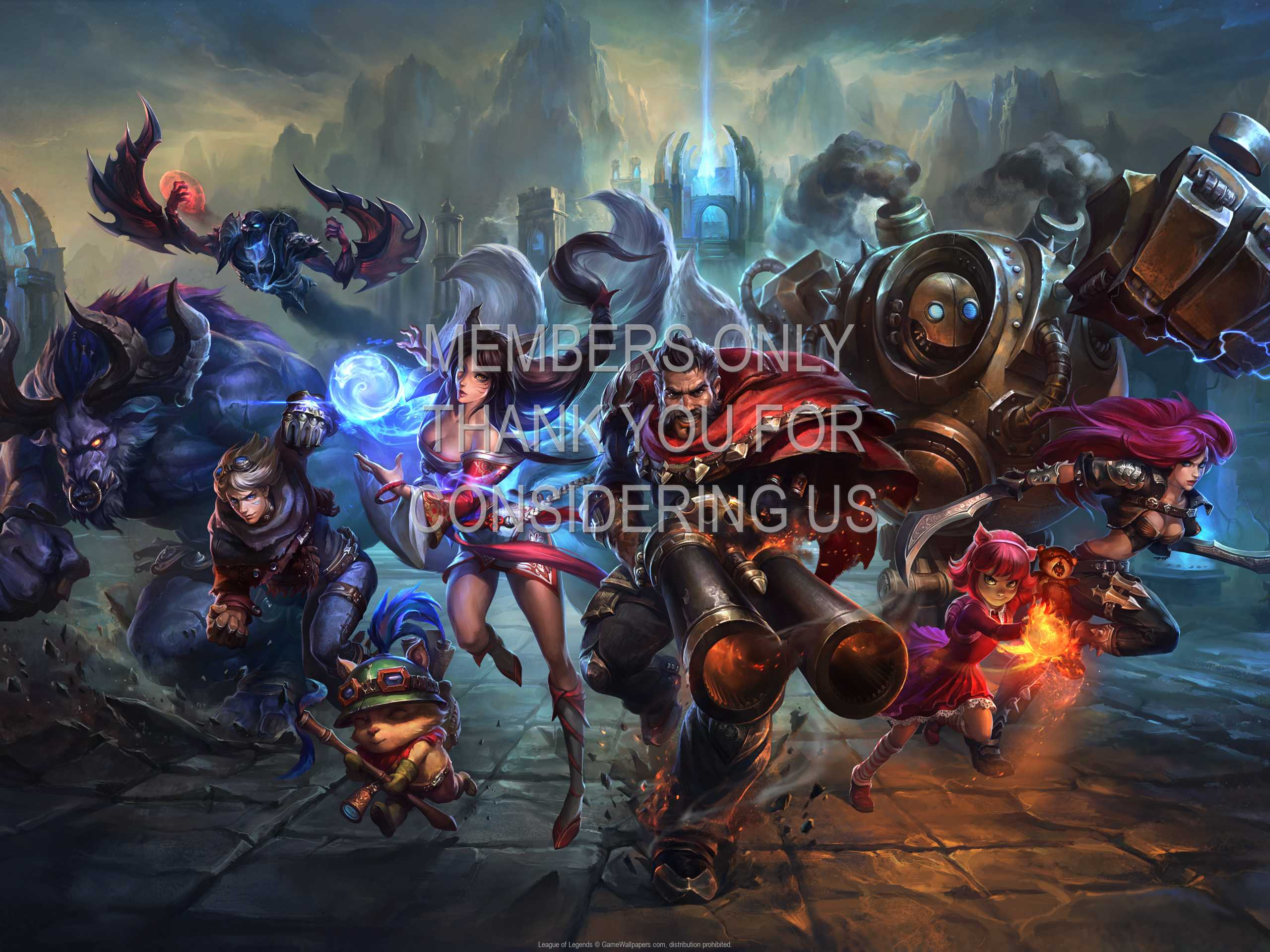 League of Legends 1080p Horizontal Handy Hintergrundbild 18