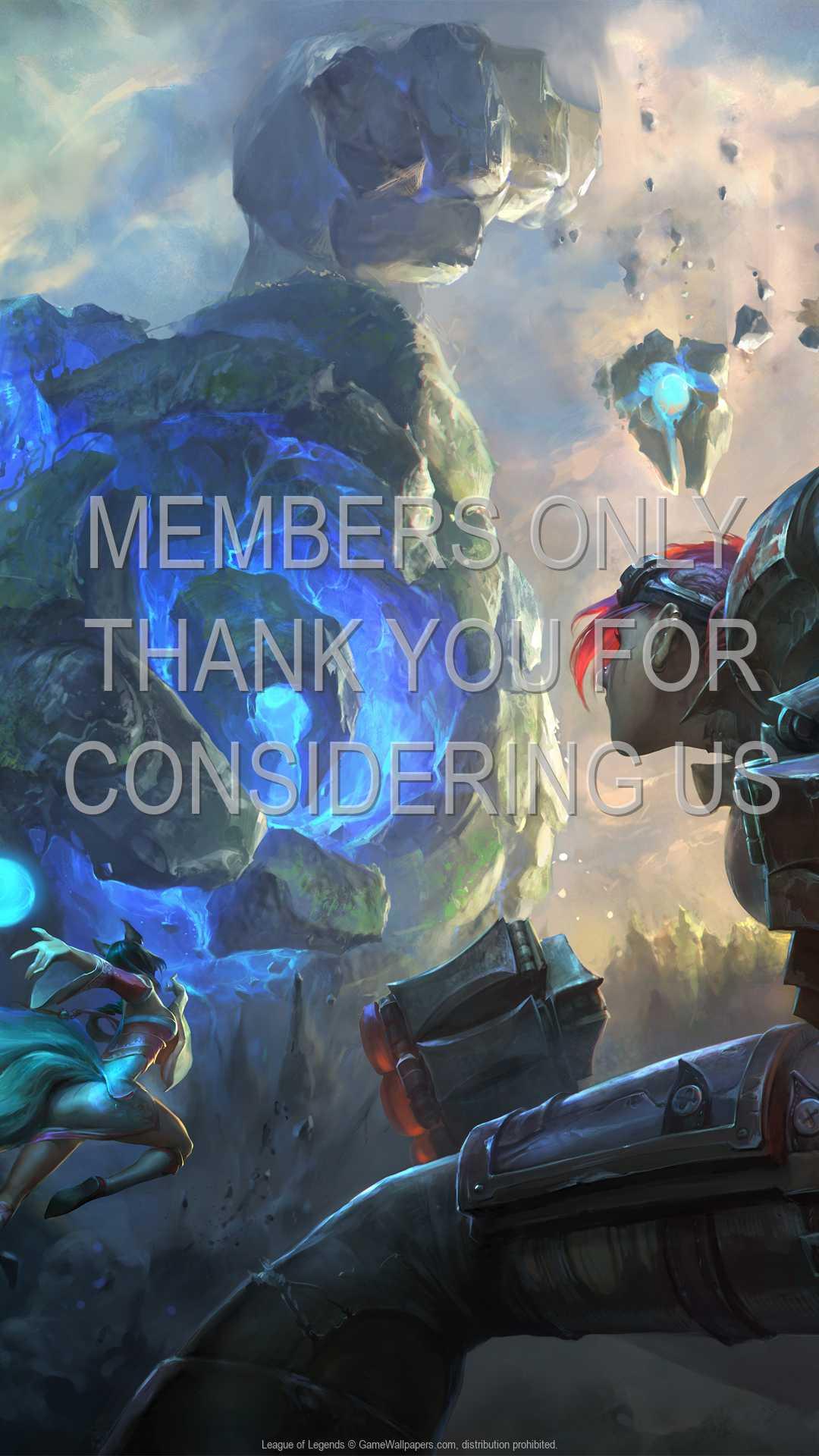 League of Legends 1080p Vertical Handy Hintergrundbild 21