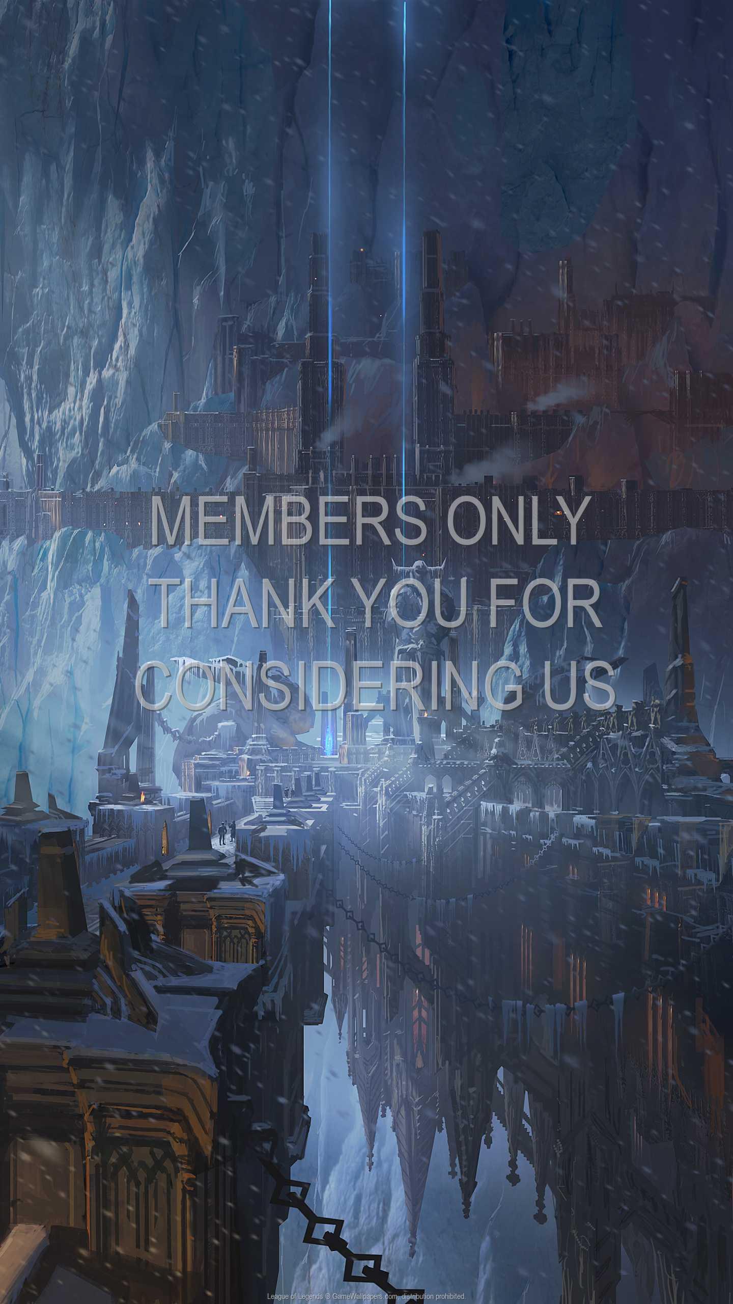 League of Legends 1440p Vertical Handy Hintergrundbild 47