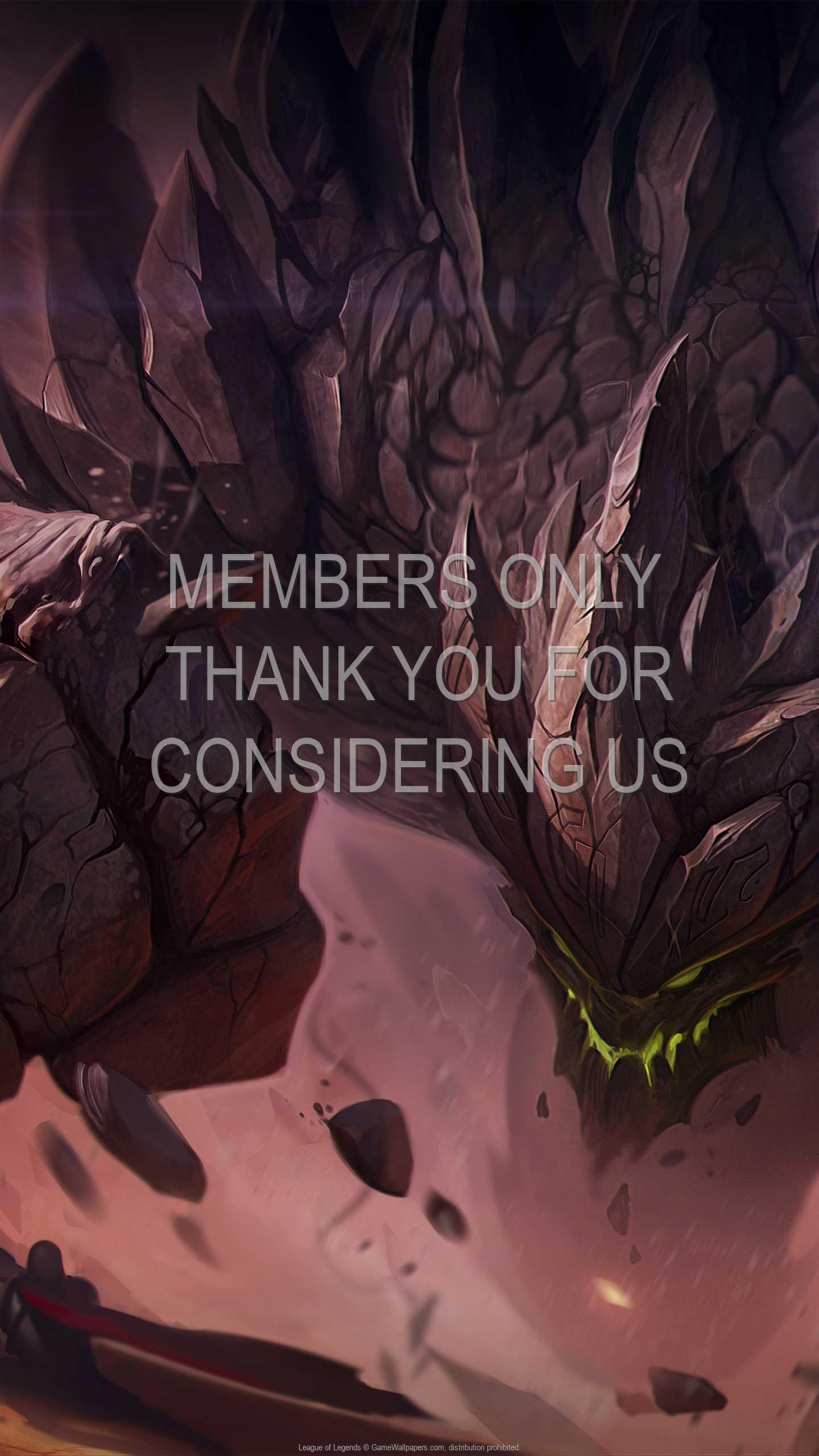 League of Legends 1440p Vertical Handy Hintergrundbild 50