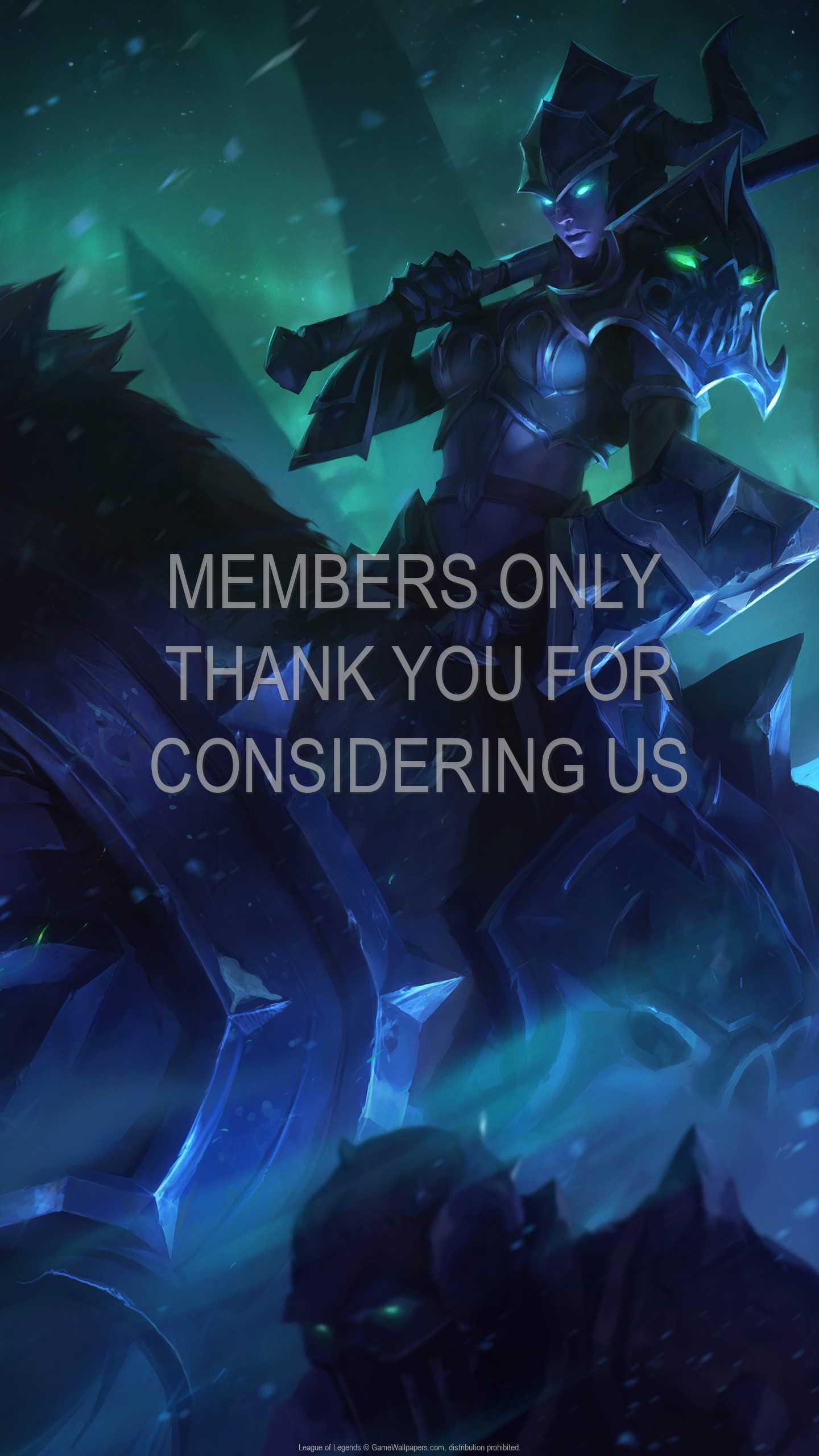 League of Legends 1440p Vertical Handy Hintergrundbild 92