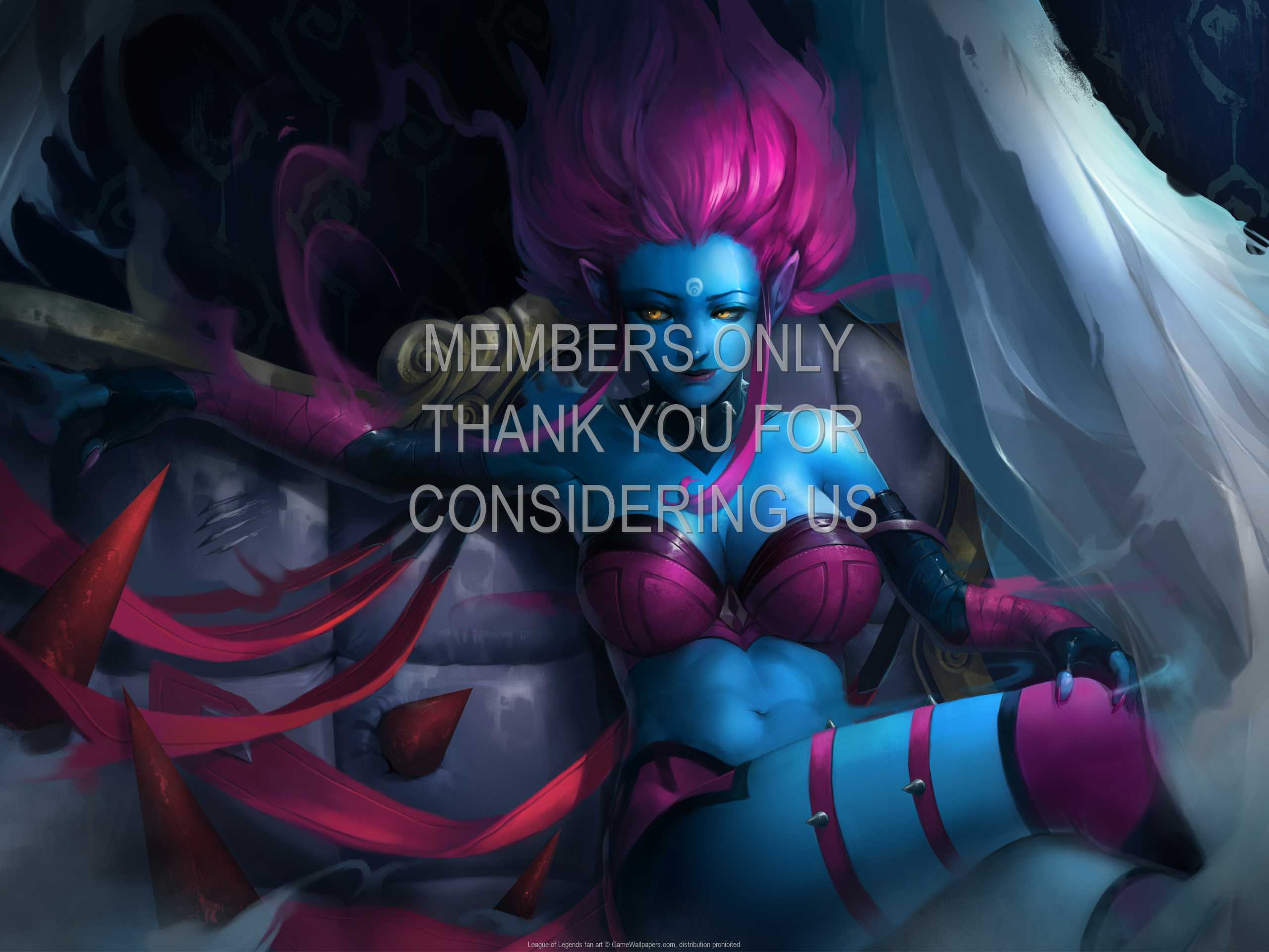 League of Legends fan art 1080p Horizontal Mobile wallpaper or background 05