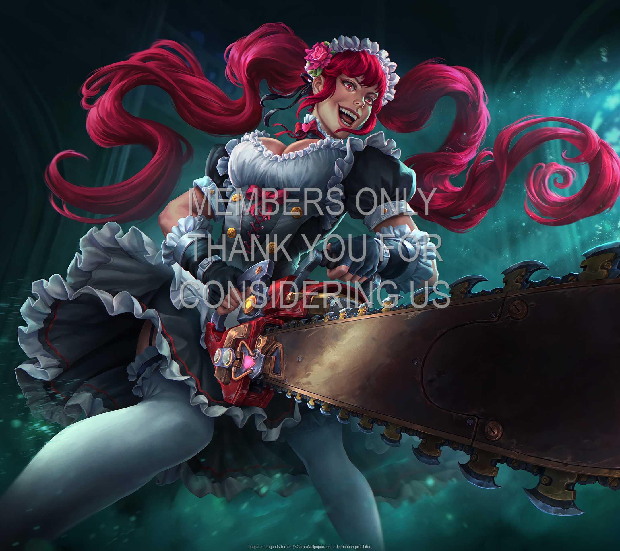 League of Legends fan art 1080p Horizontal Mobiele achtergrond 16