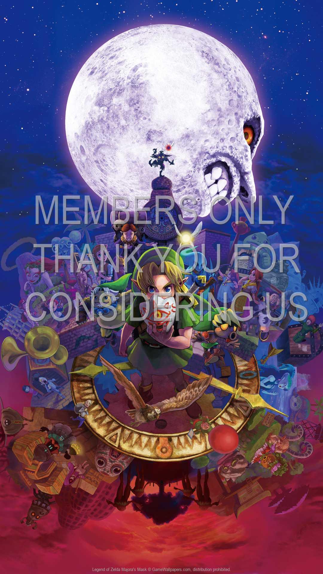Legend Of Zelda Majora S Mask Wallpaper 01 1080p Vertical