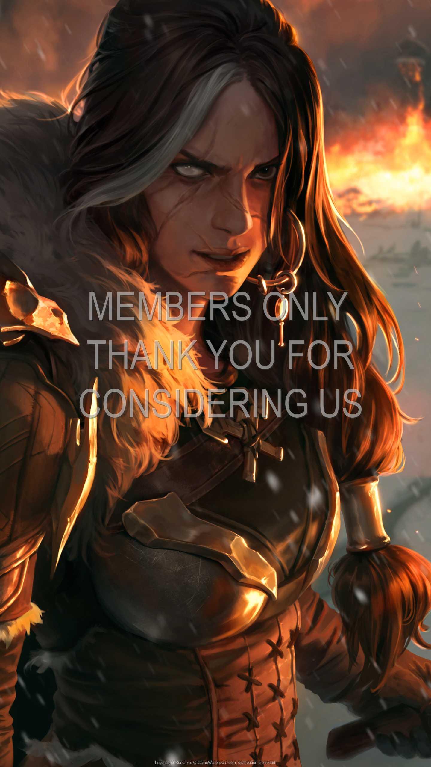 Legends of Runeterra 1440p Vertical Handy Hintergrundbild 01
