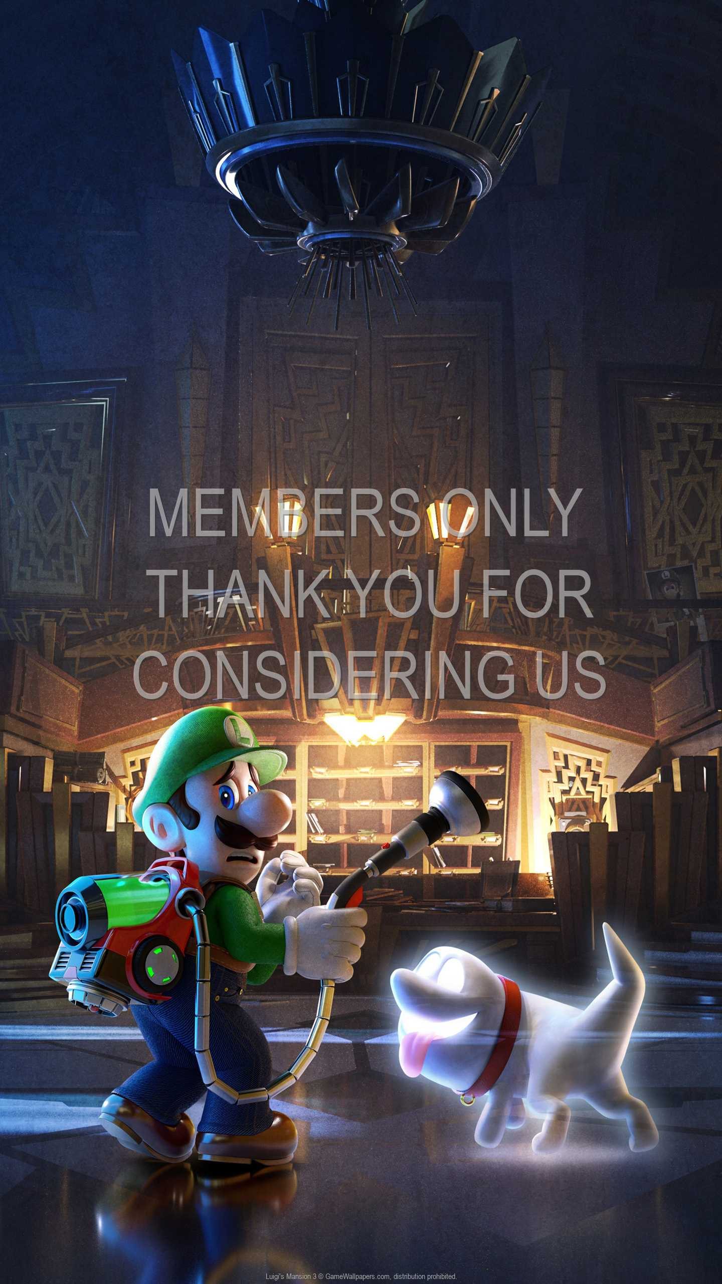 Luigi's Mansion 3 1440p Vertical Mobile wallpaper or background 02