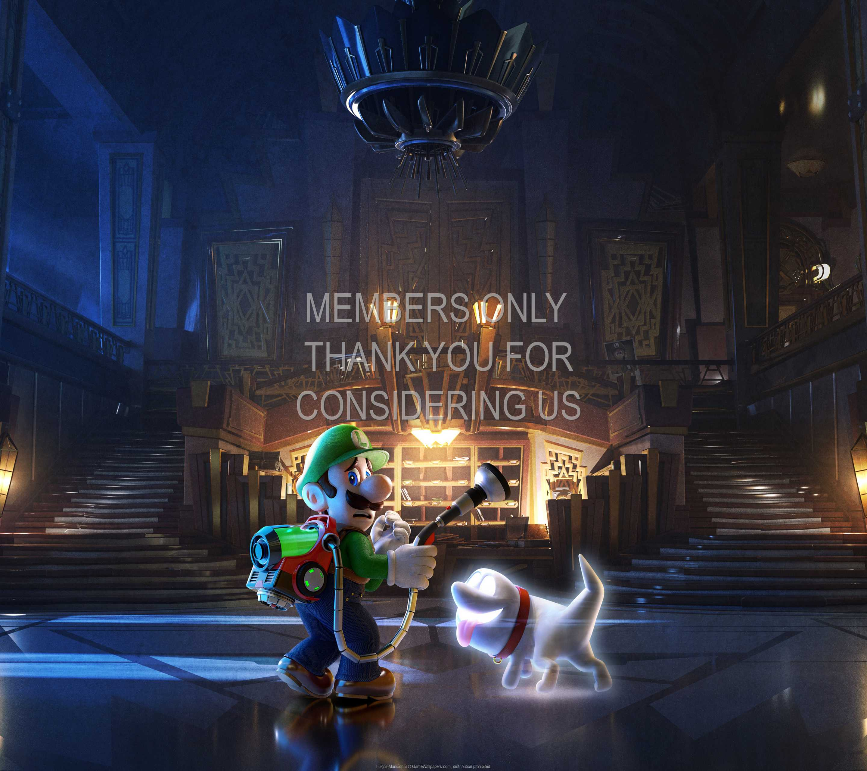 Luigi's Mansion 3 1440p Horizontal Handy Hintergrundbild 02