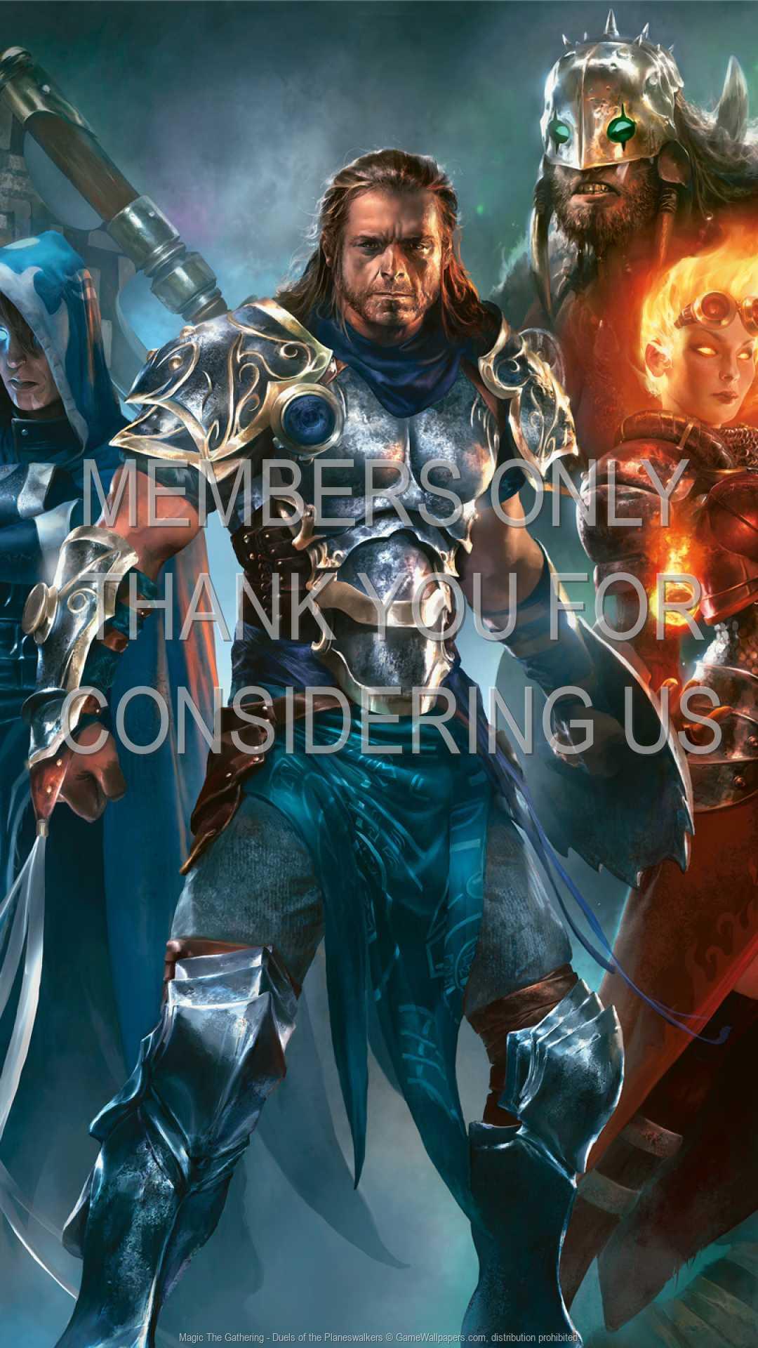 Magic: The Gathering - Duels of the Planeswalkers 1080p Vertical Handy Hintergrundbild 01