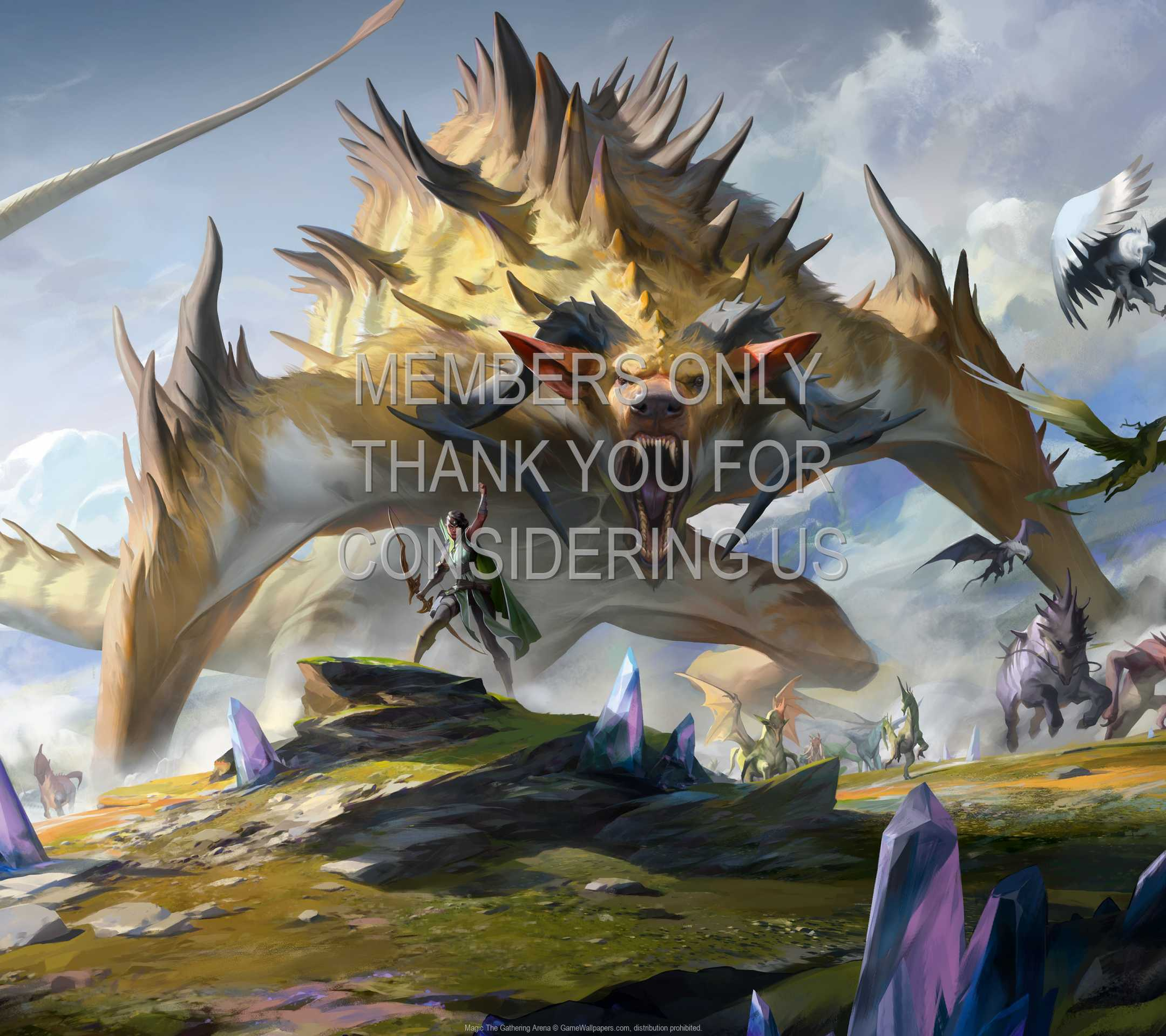 Magic: The Gathering Arena 1080p Horizontal Mobiele achtergrond 07