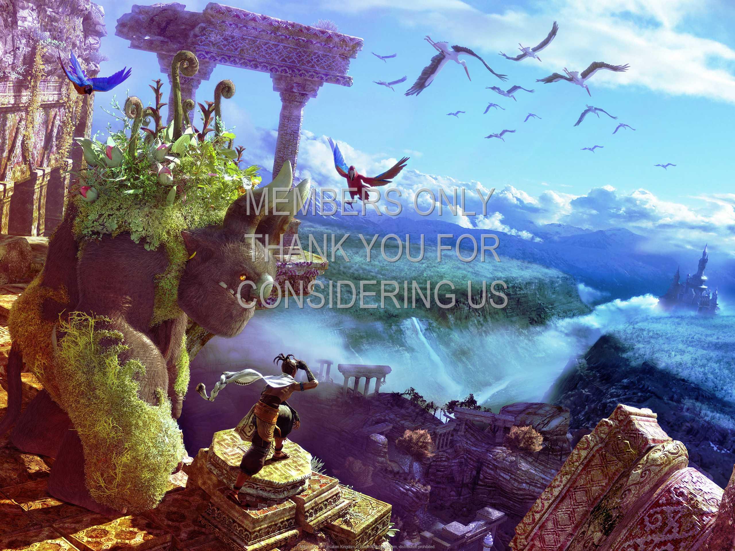 Majin and the Forsaken Kingdom 1080p Horizontal Handy Hintergrundbild 03
