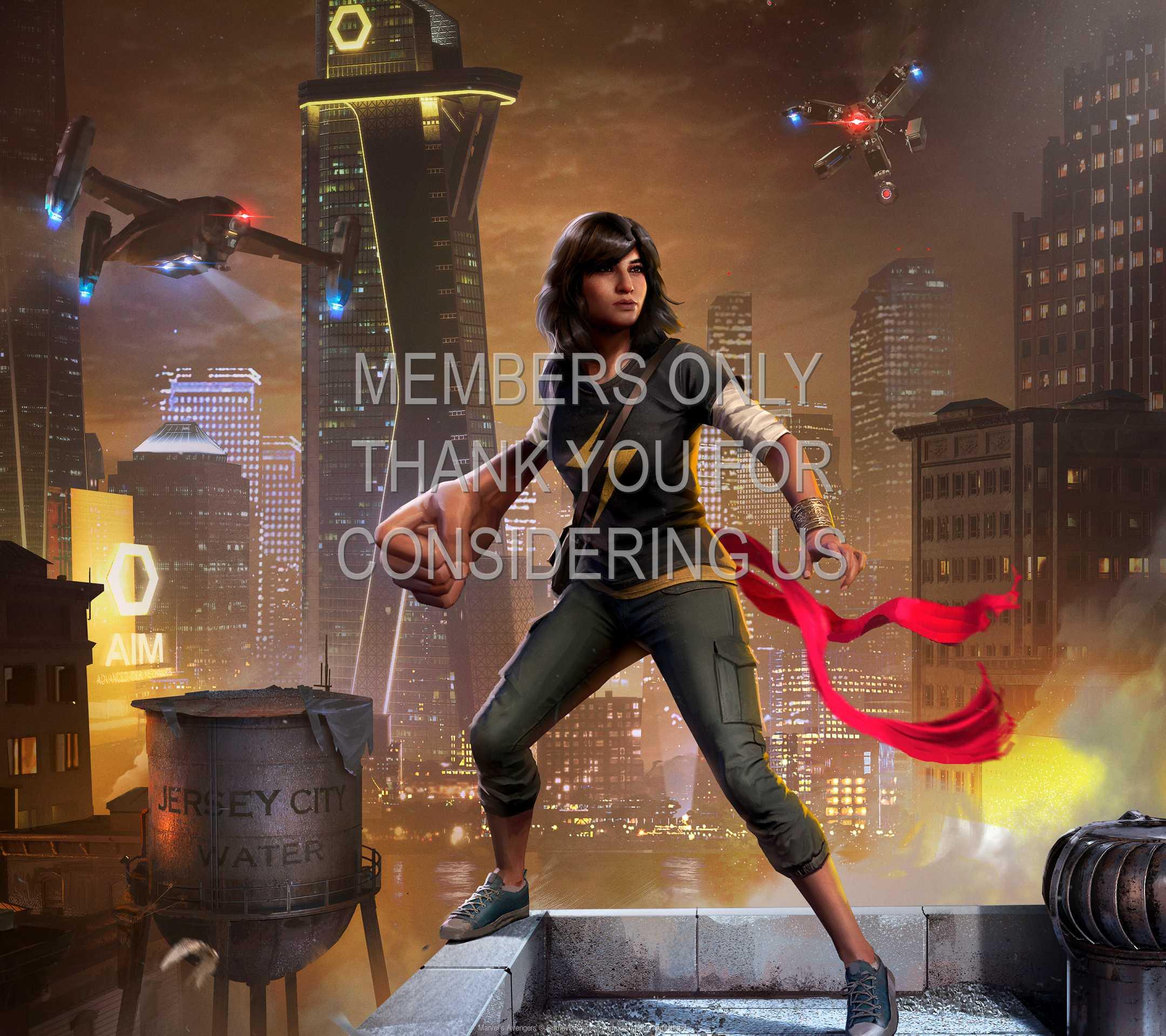 Marvel's Avengers 1080p Horizontal Handy Hintergrundbild 01