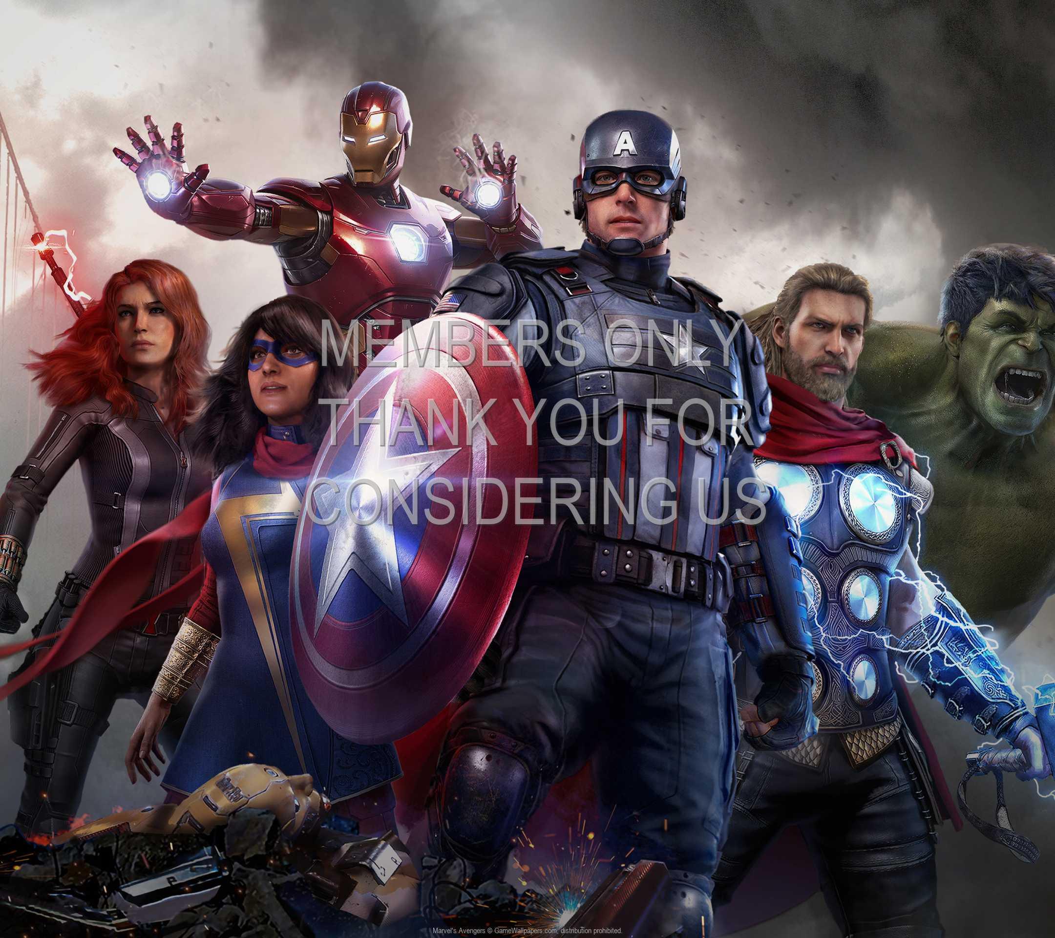 Marvel's Avengers 1080p Horizontal Móvil fondo de escritorio 02