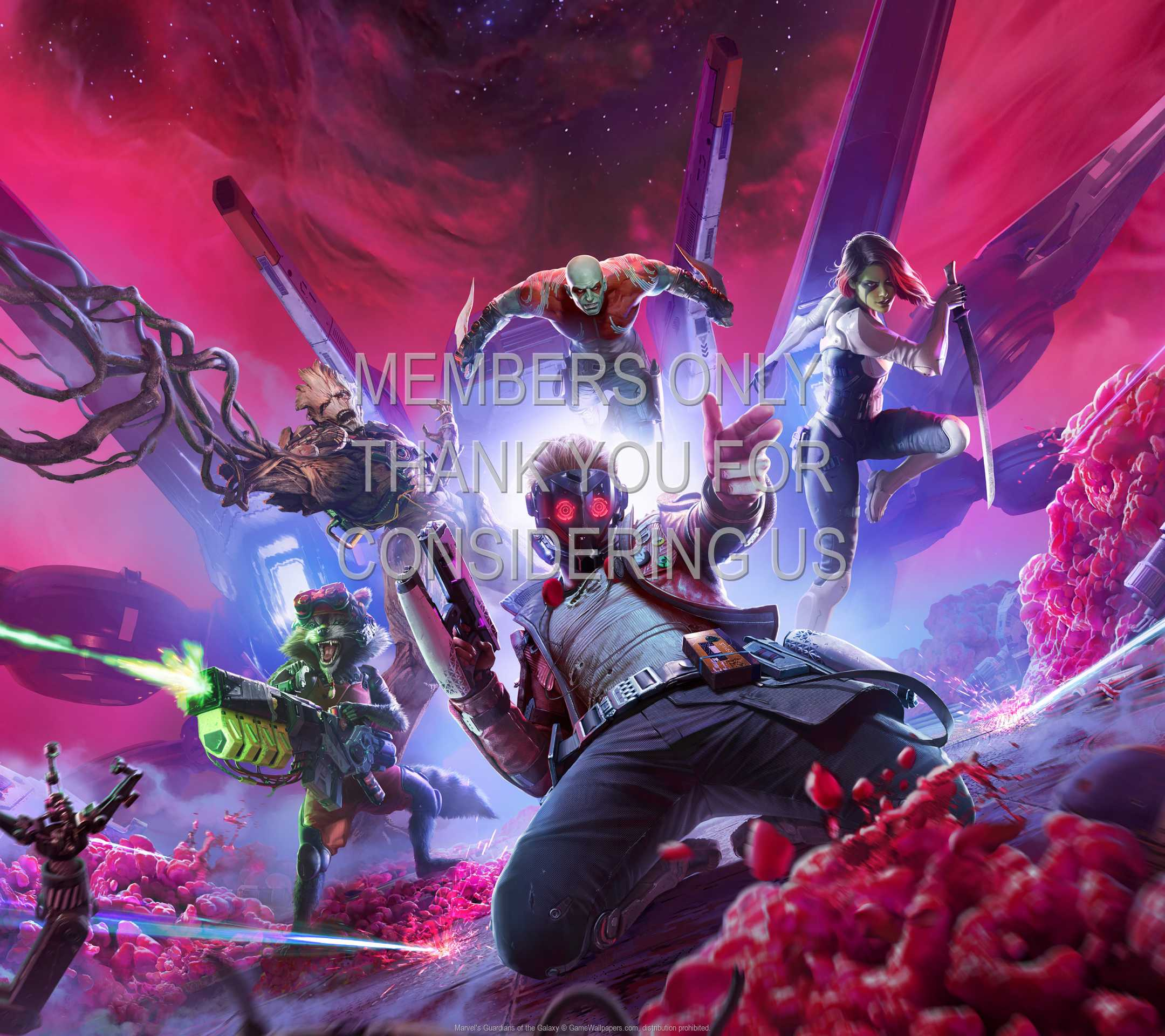 Marvel's Guardians of the Galaxy 1080p Horizontal Handy Hintergrundbild 01