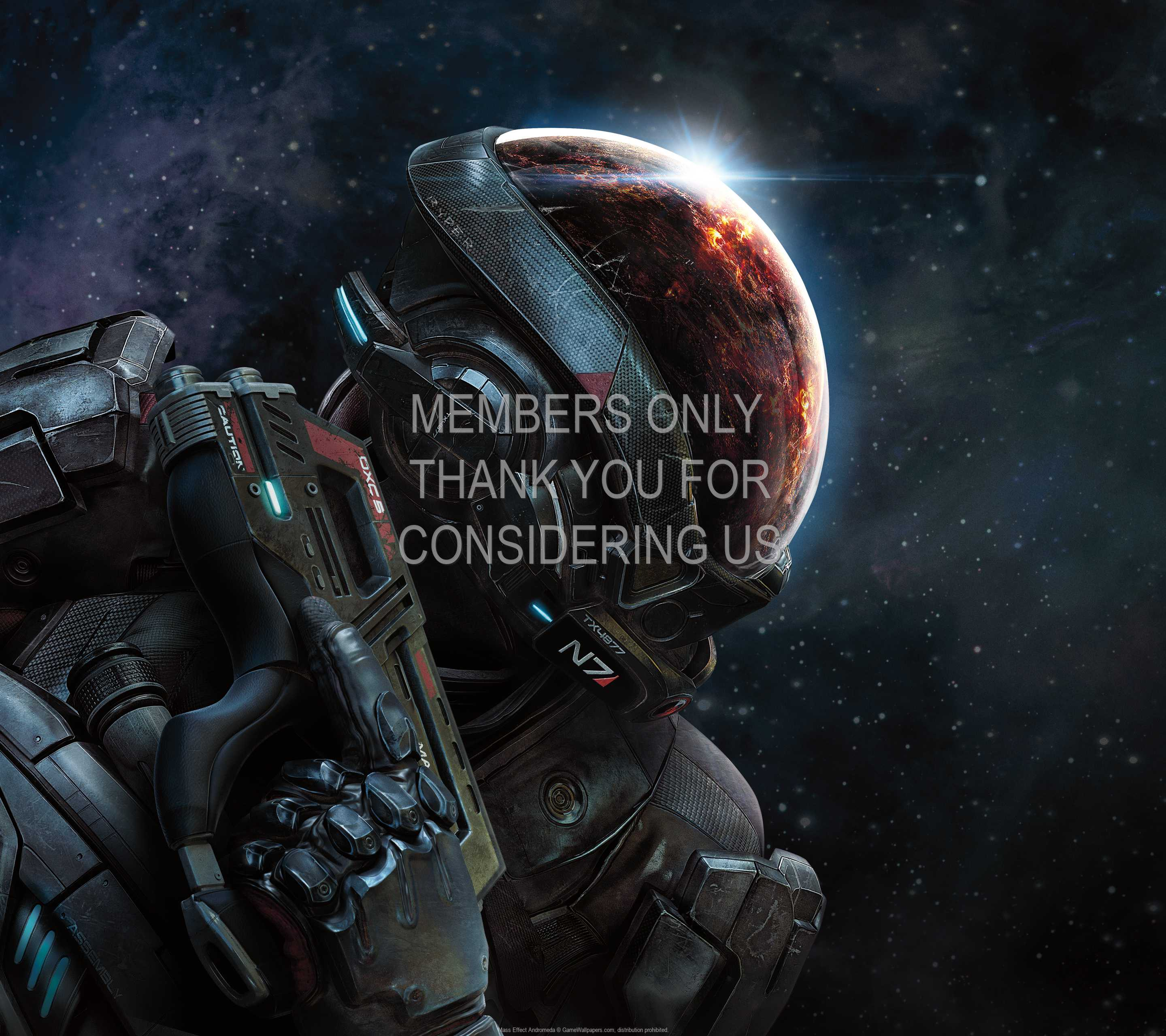 Mass Effect: Andromeda 1440p Horizontal Mobiele achtergrond 01