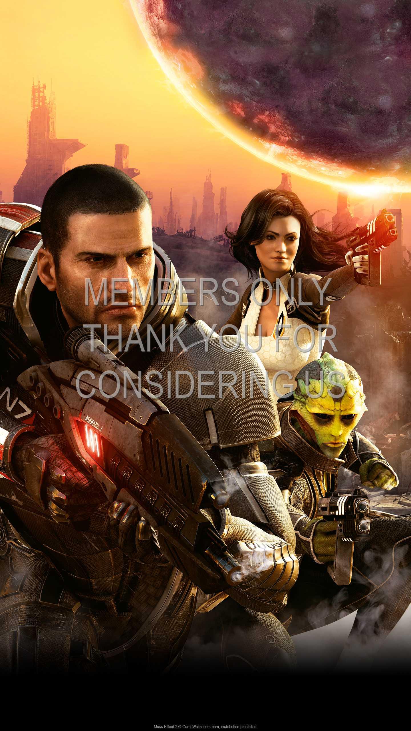 Mass Effect 2 1440p Vertical Handy Hintergrundbild 08
